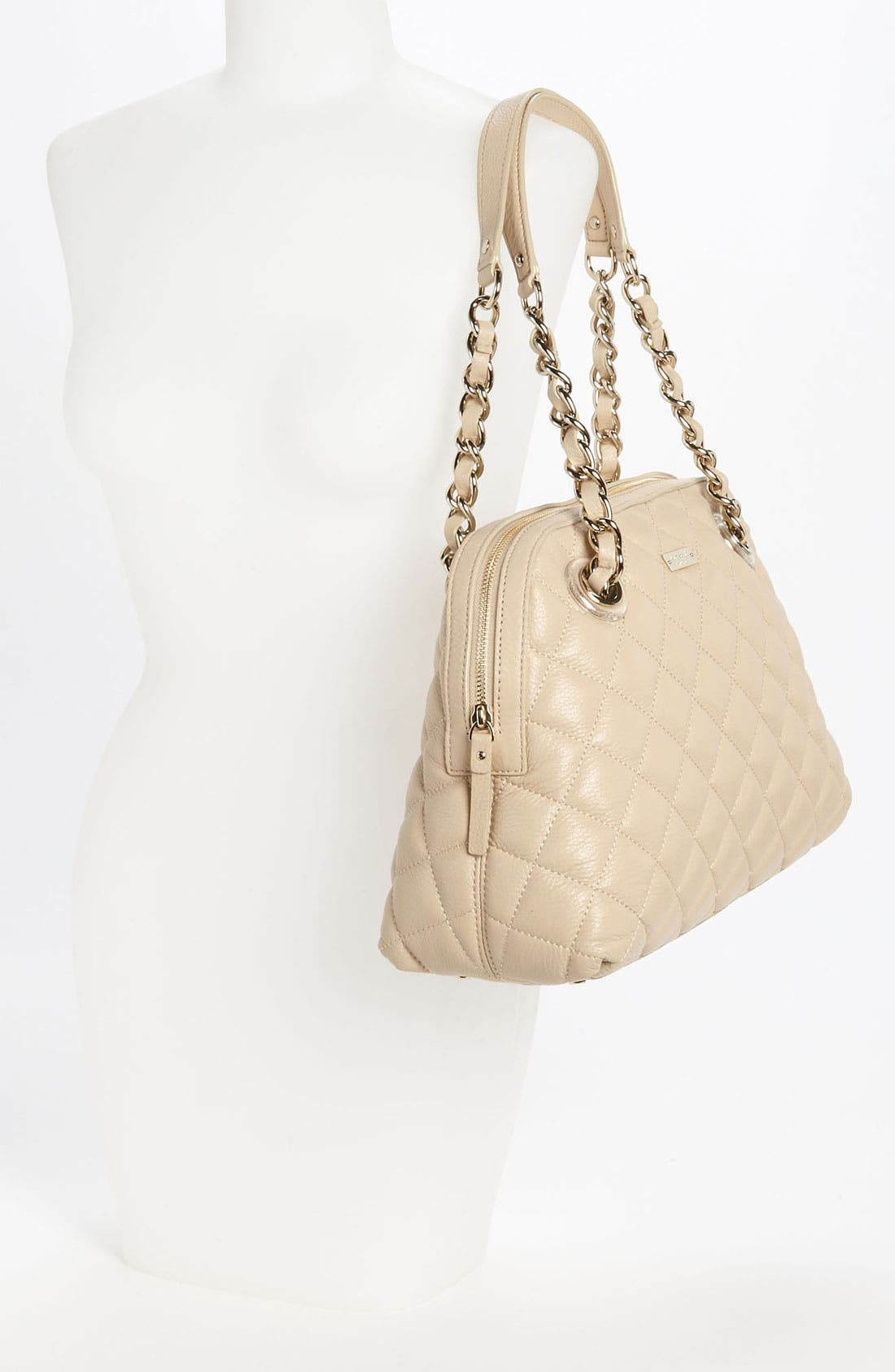 Alternate Image 2  - kate spade new york 'gold coast - georgina' quilted shopper, large