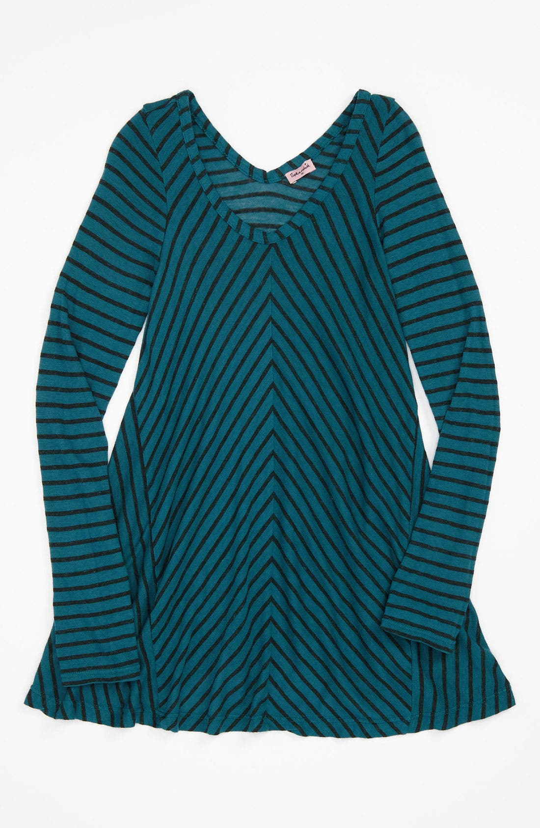 Main Image - Splendid Stripe Tunic (Big Girls)