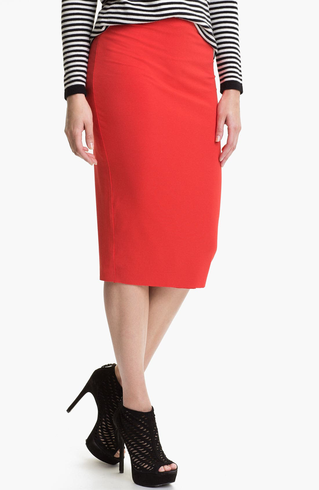 Main Image - Vince Camuto Midi Tube Skirt