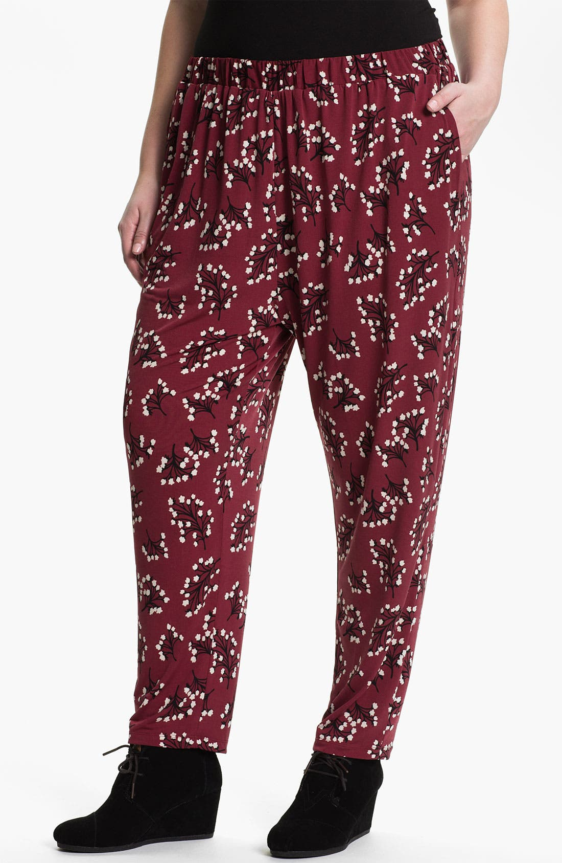 Alternate Image 1 Selected - Evans 'Mimosa' Pants (Plus Size)