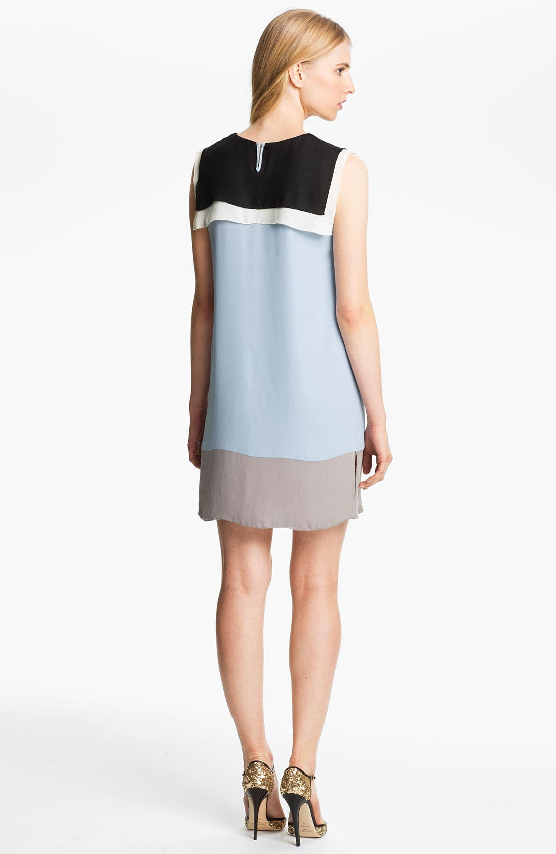 Alternate Image 2  - L'AGENCE Colorblock Sailor Dress