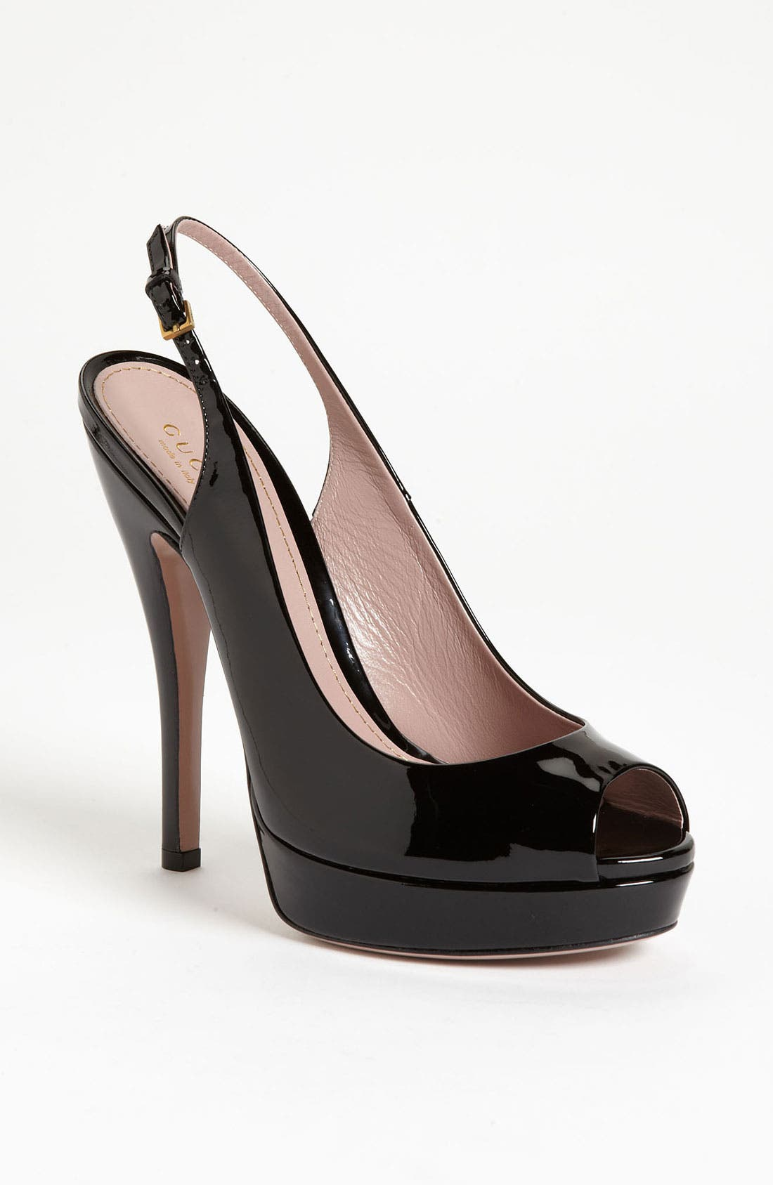 Alternate Image 1 Selected - Gucci 'Lisbeth' Slingback Pump