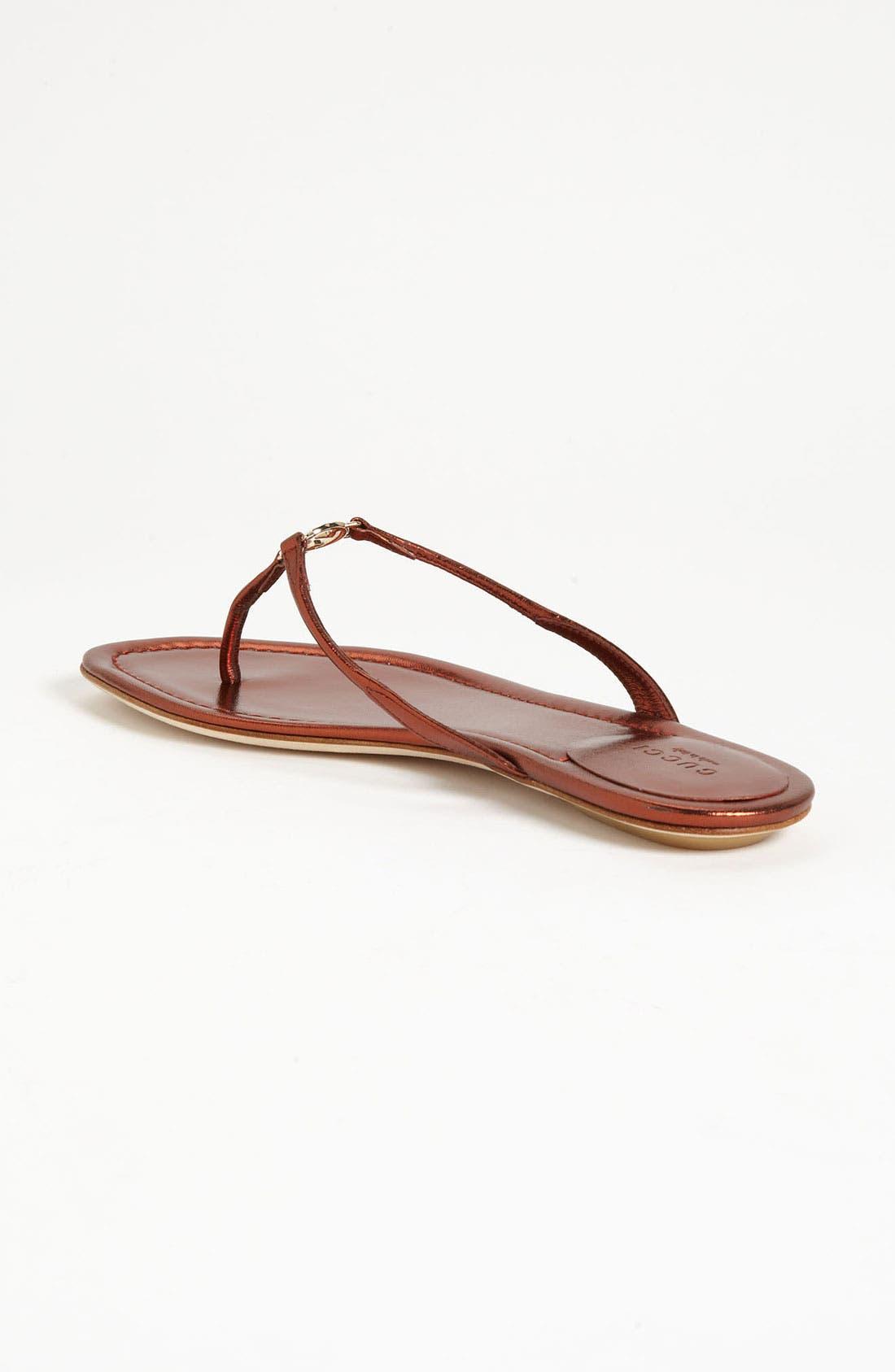 Alternate Image 2  - Gucci 'Elaine' Thong Sandal