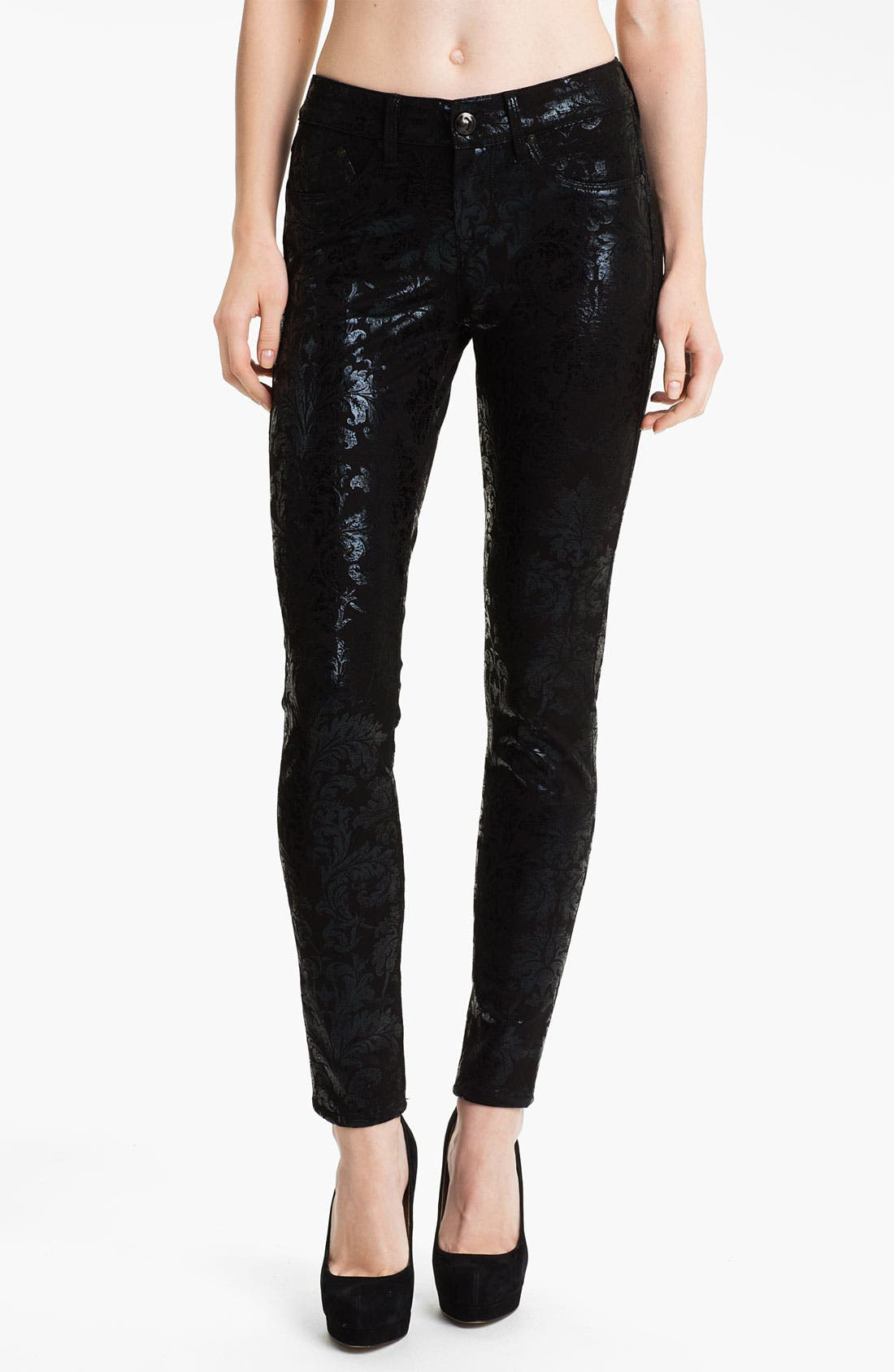 Alternate Image 1 Selected - Dylan George Skinny Pants (Baroque)
