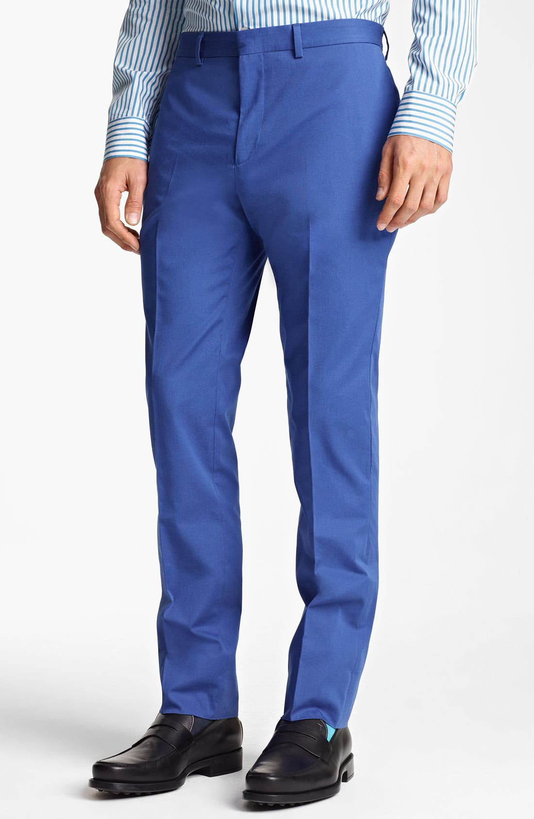 Main Image - PS Paul Smith Slim Tapered Leg Trousers