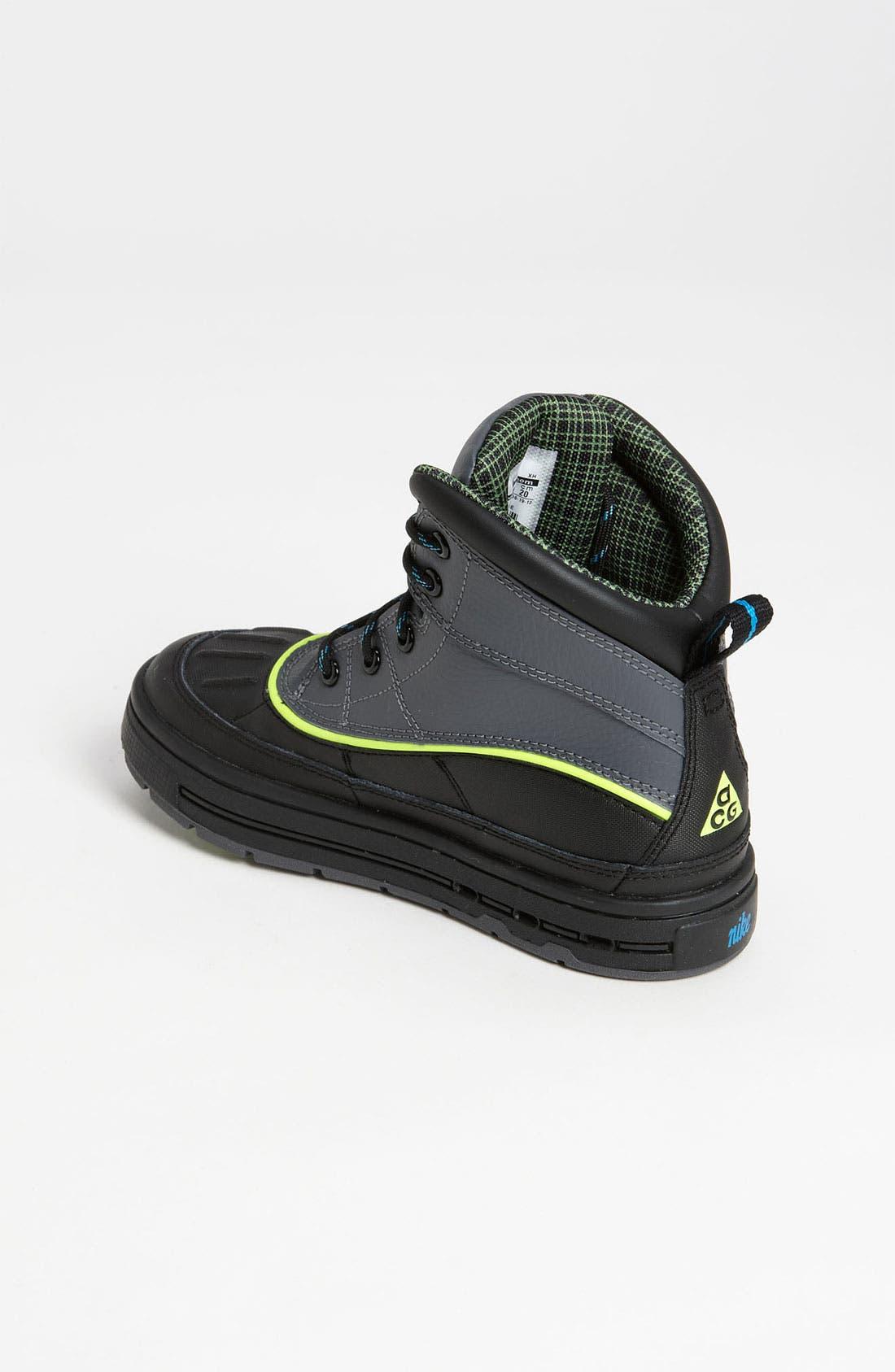 Alternate Image 2  - Nike 'Woodside 2 High' Boot (Baby, Walker, Toddler, Little Kid & Big Kid)