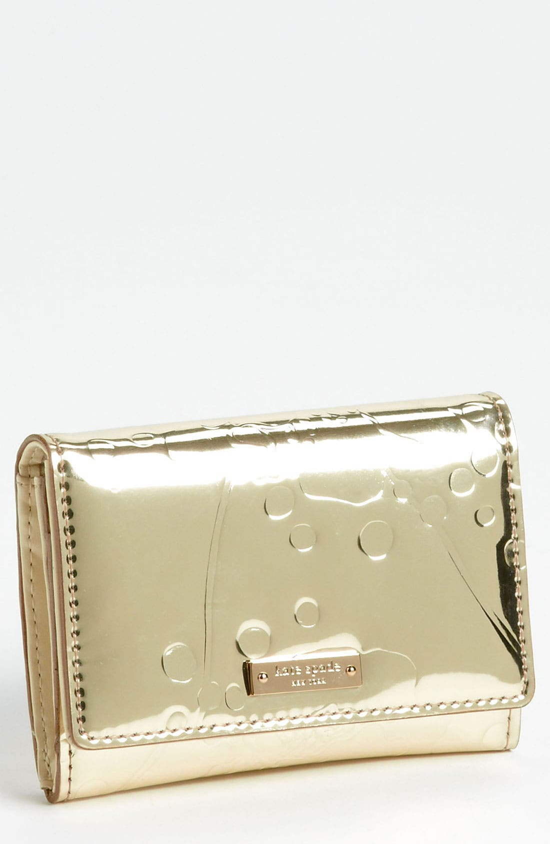Main Image - kate spade new york 'spotted floral - darla' wallet