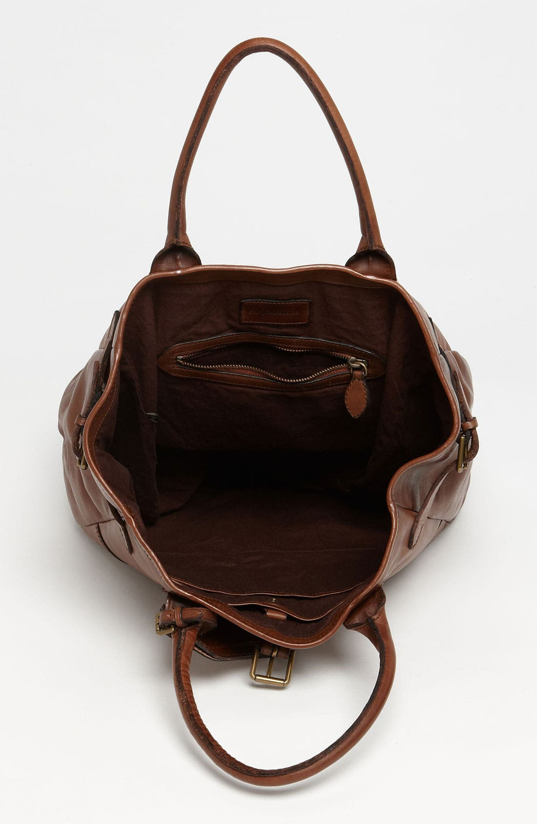 Alternate Image 3  - Polo Ralph Lauren Leather Tote
