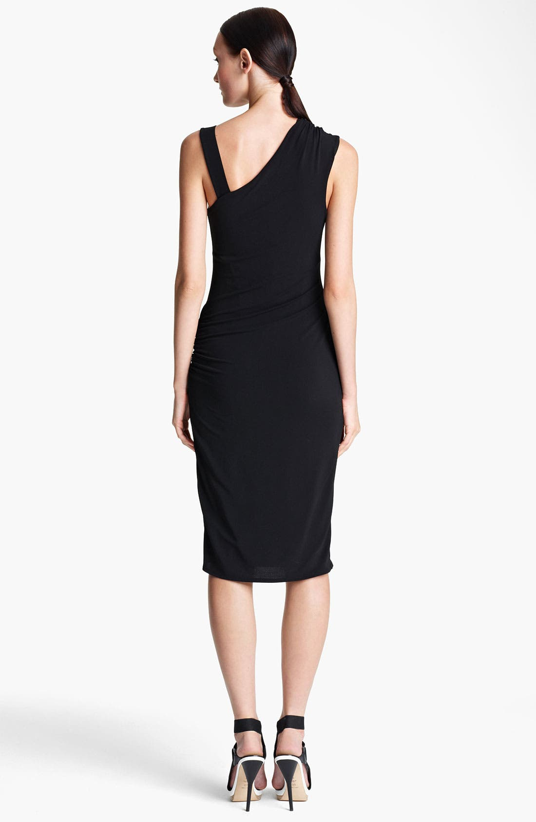 Alternate Image 2  - Lida Baday Draped Stretch Jersey Dress