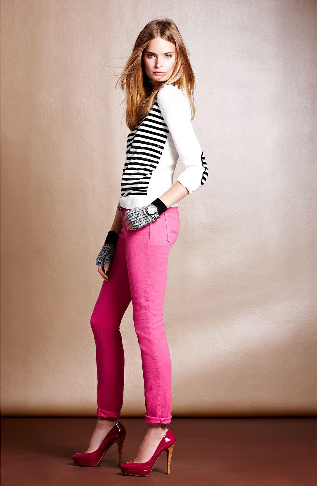 Alternate Image 2  - MICHAEL Michael Kors Sequin Stripe Sweater