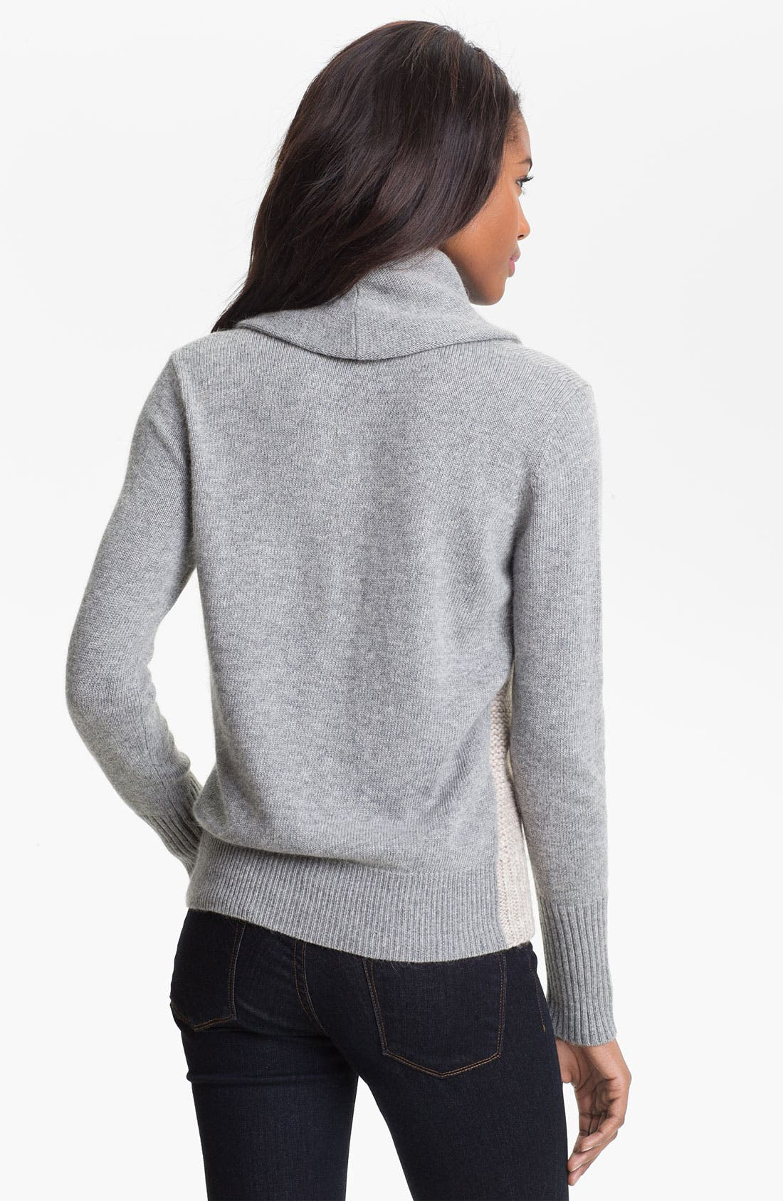 Alternate Image 2  - DKNYC Cable Front Sweater