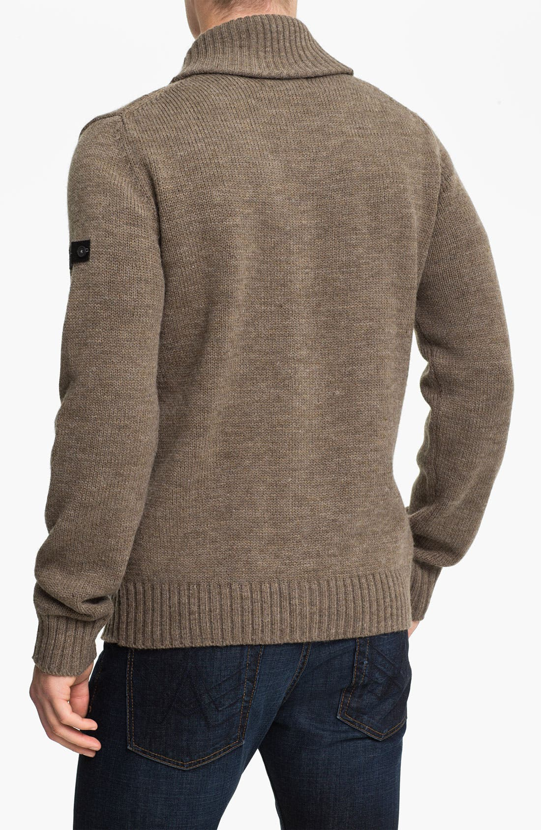 Alternate Image 2  - Ben Sherman Shawl Collar Cardigan
