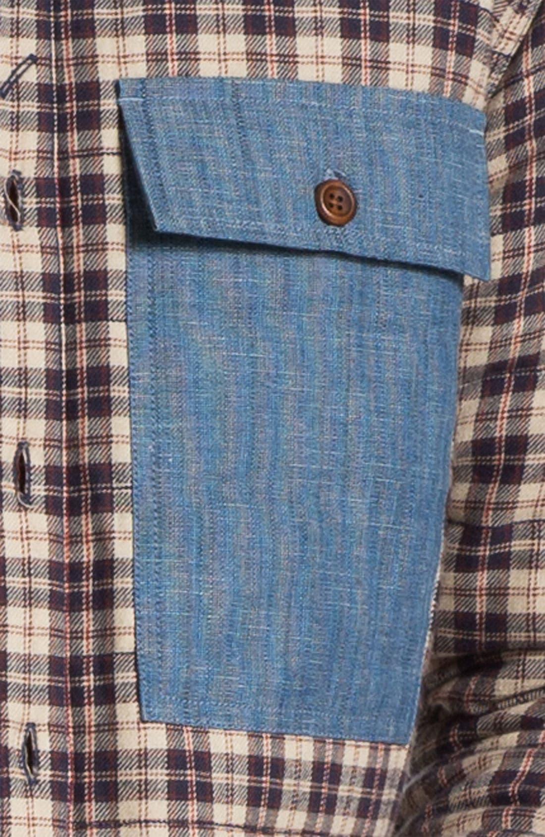 Alternate Image 3  - Marshall Artist Quilted Shirt Jacket