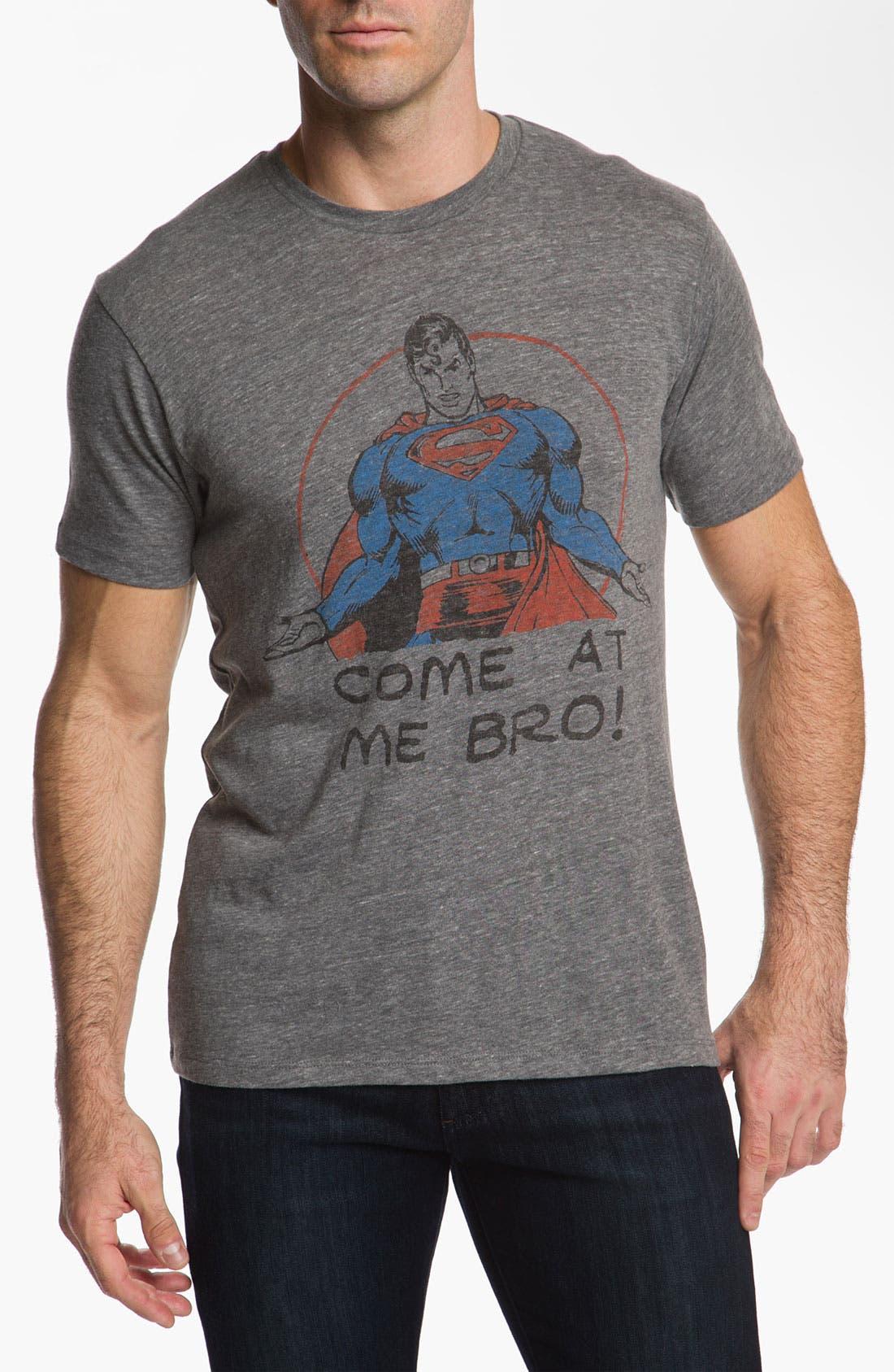 Alternate Image 1 Selected - Junk Food 'Come at Me Bro' T-Shirt