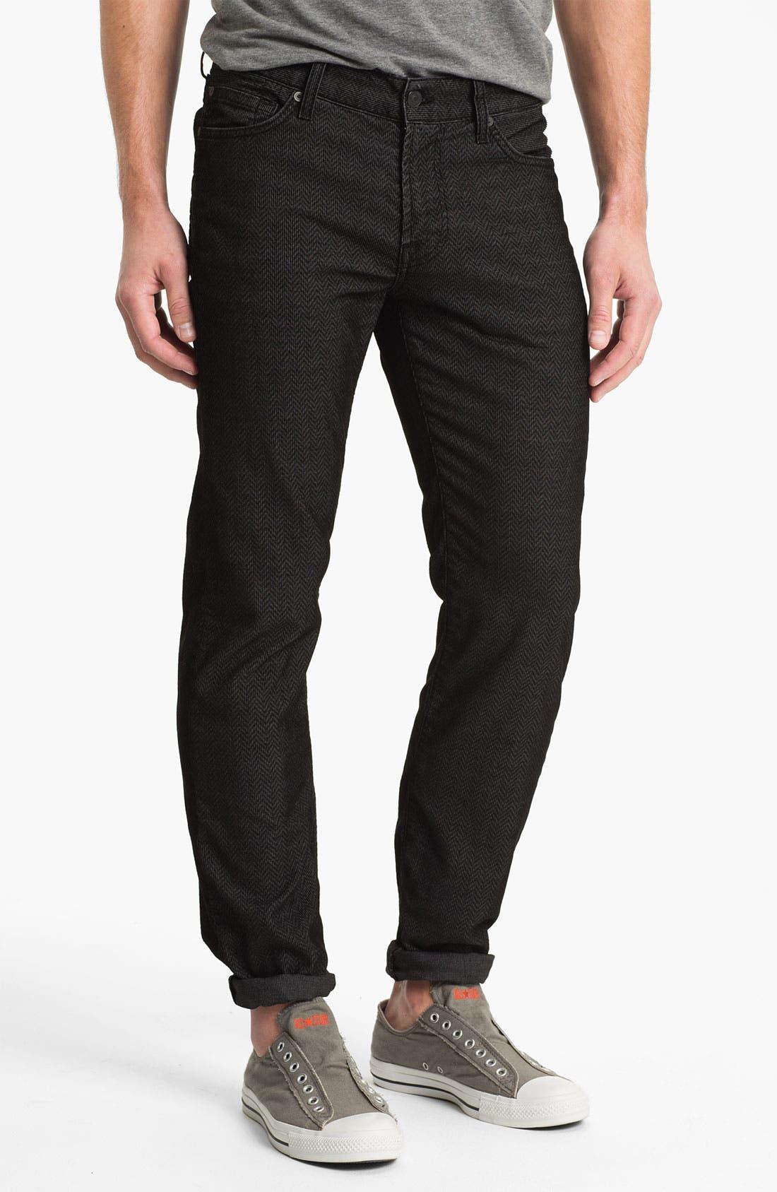 Alternate Image 2  - 7 For All Mankind® 'Slimmy' Slim Straight Leg Herringbone Corduroy Pants