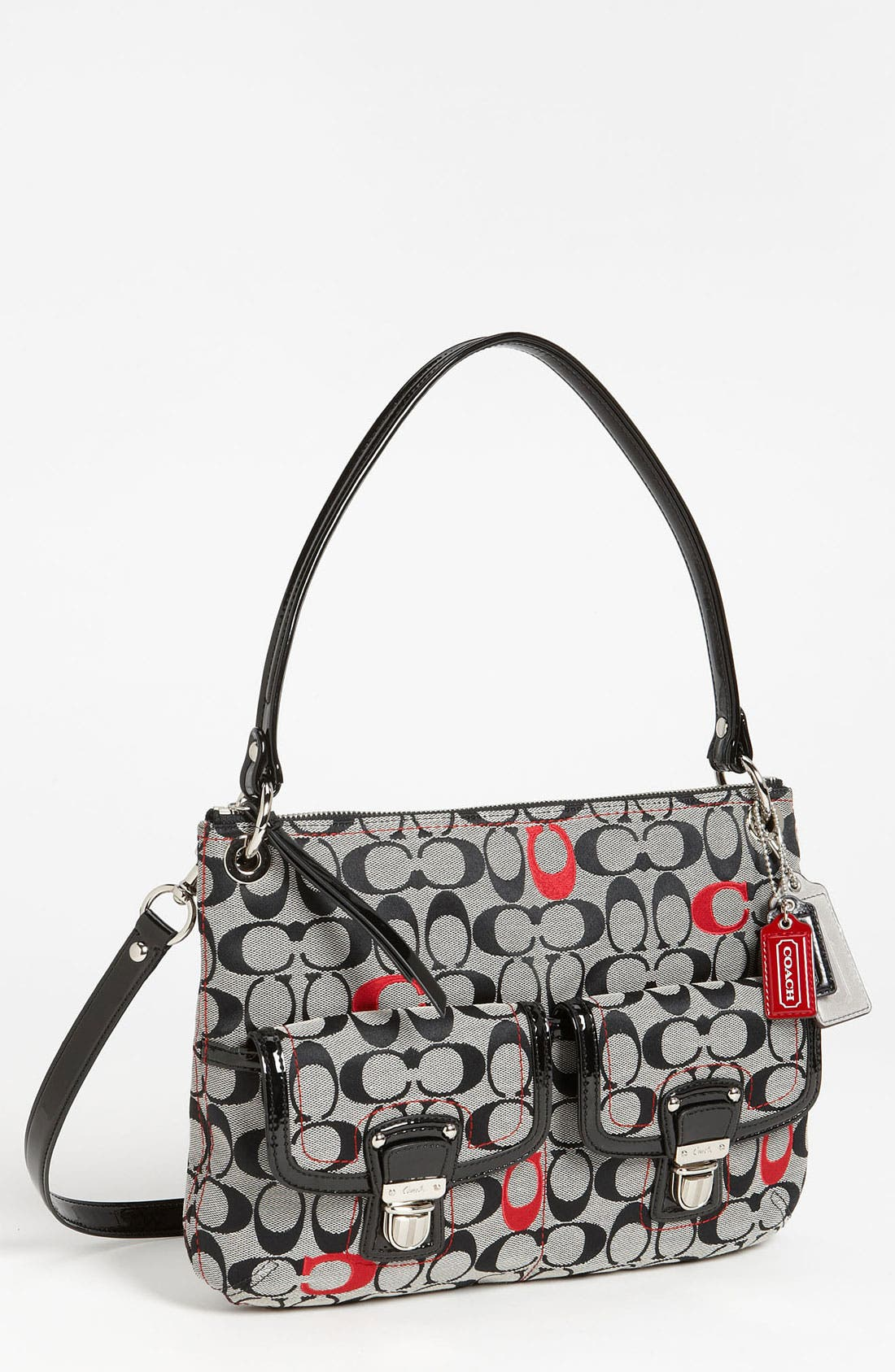 Main Image - COACH 'Poppy - Signature Hippie' Satchel