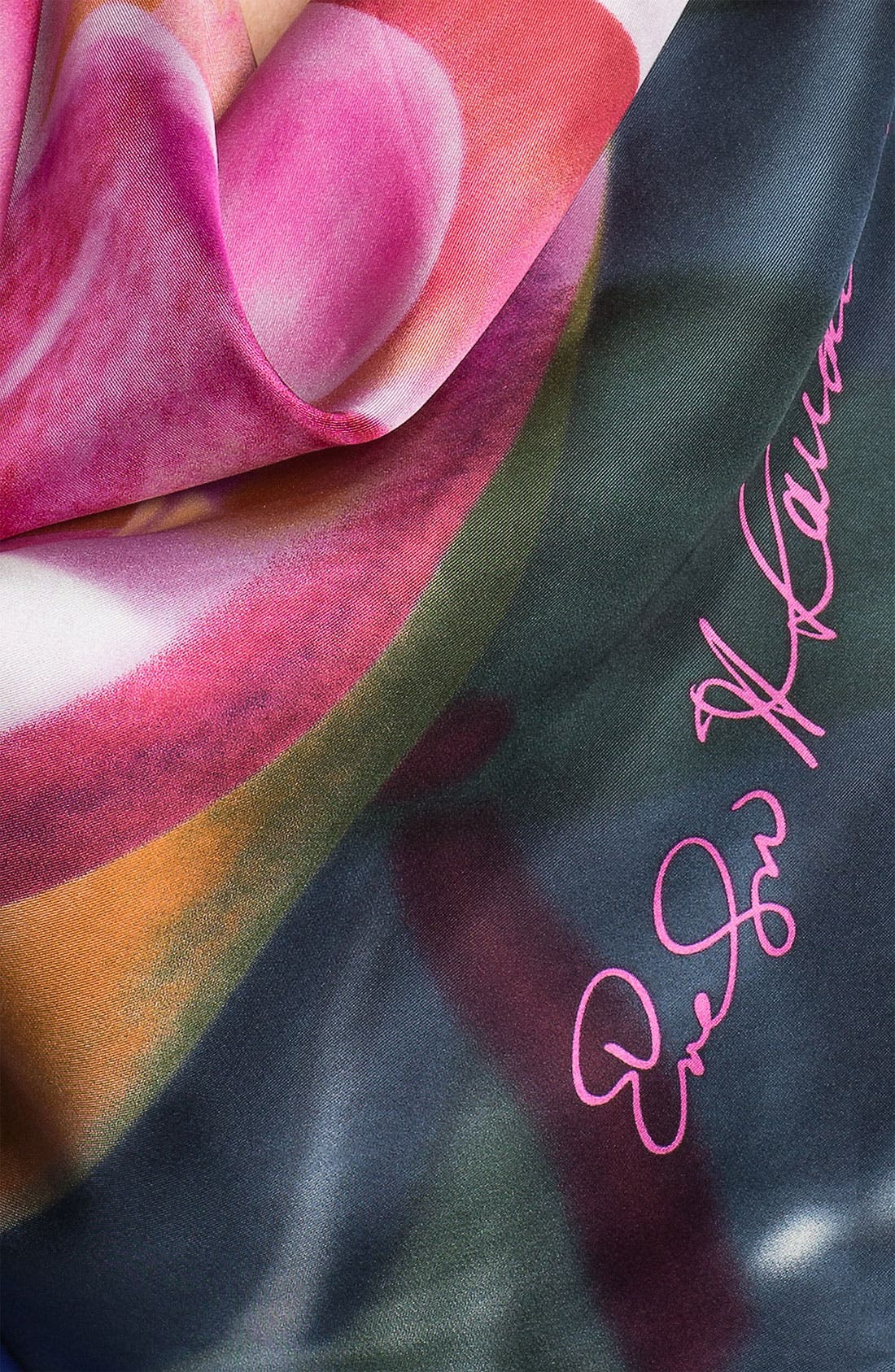 Alternate Image 2  - Echo 'Poetry in the Light' Silk Scarf