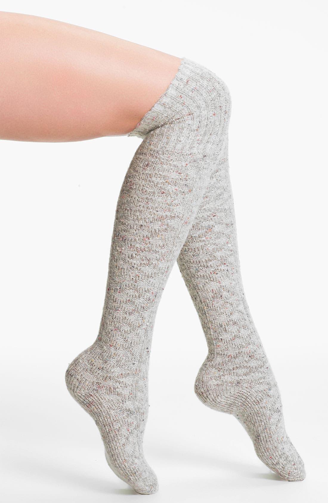 Main Image - Free People 'Vintage' Over the Knee Socks