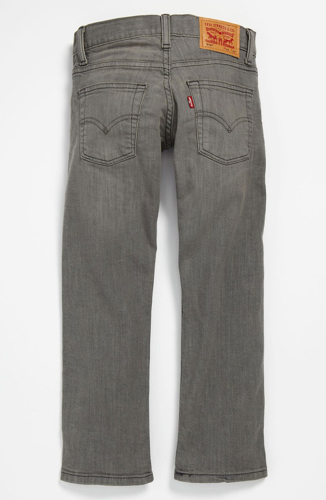 Alternate Image 1 Selected - Levi's® '513™' Slim Fit Jeans (Big Boys)