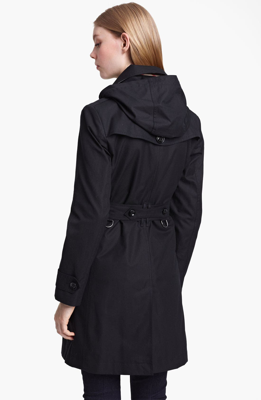 Alternate Image 2  - Burberry Brit Belted Trench Coat