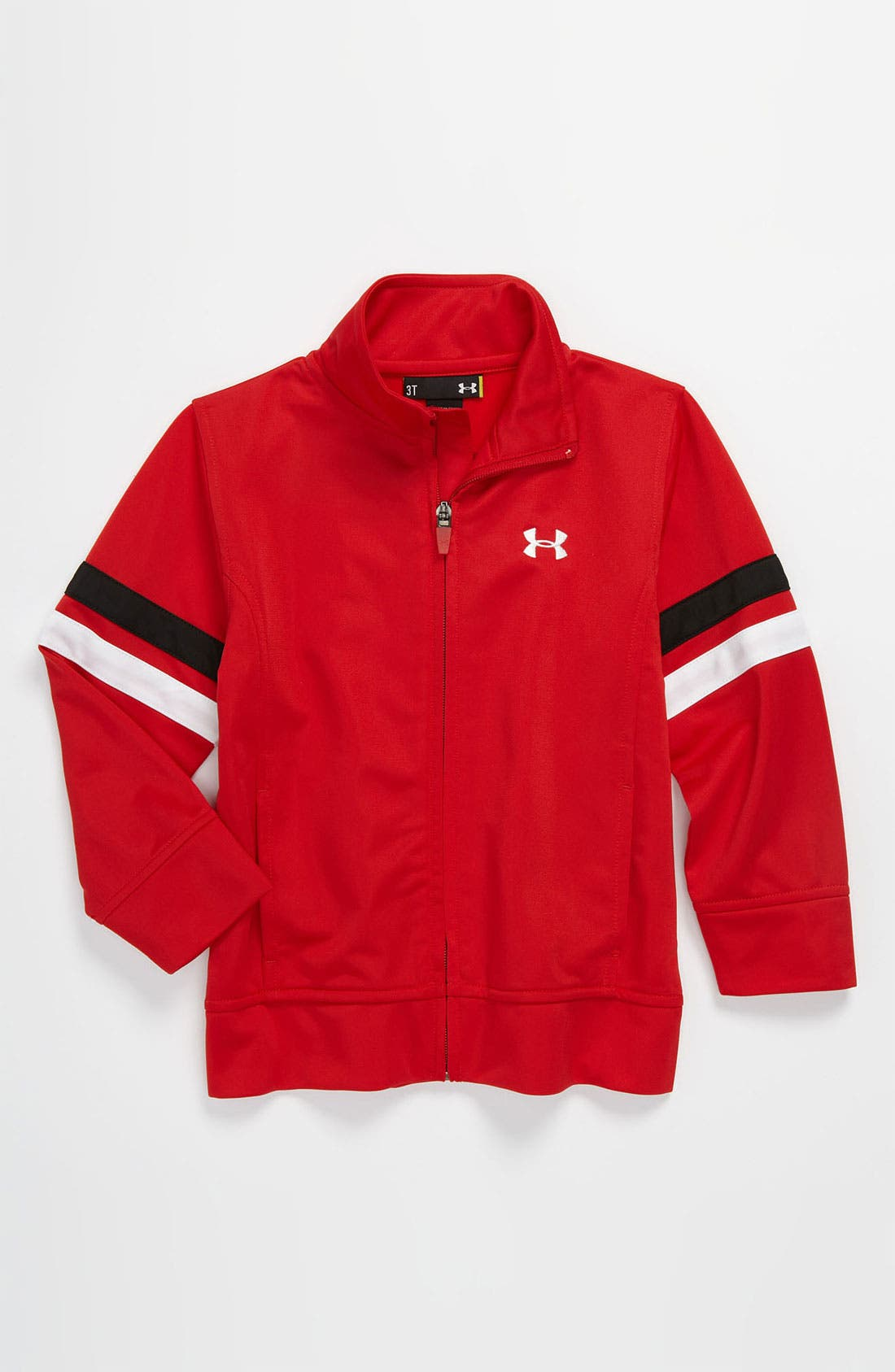 Alternate Image 1 Selected - Under Armour 'Warm-Up' Jacket (Little Boys)