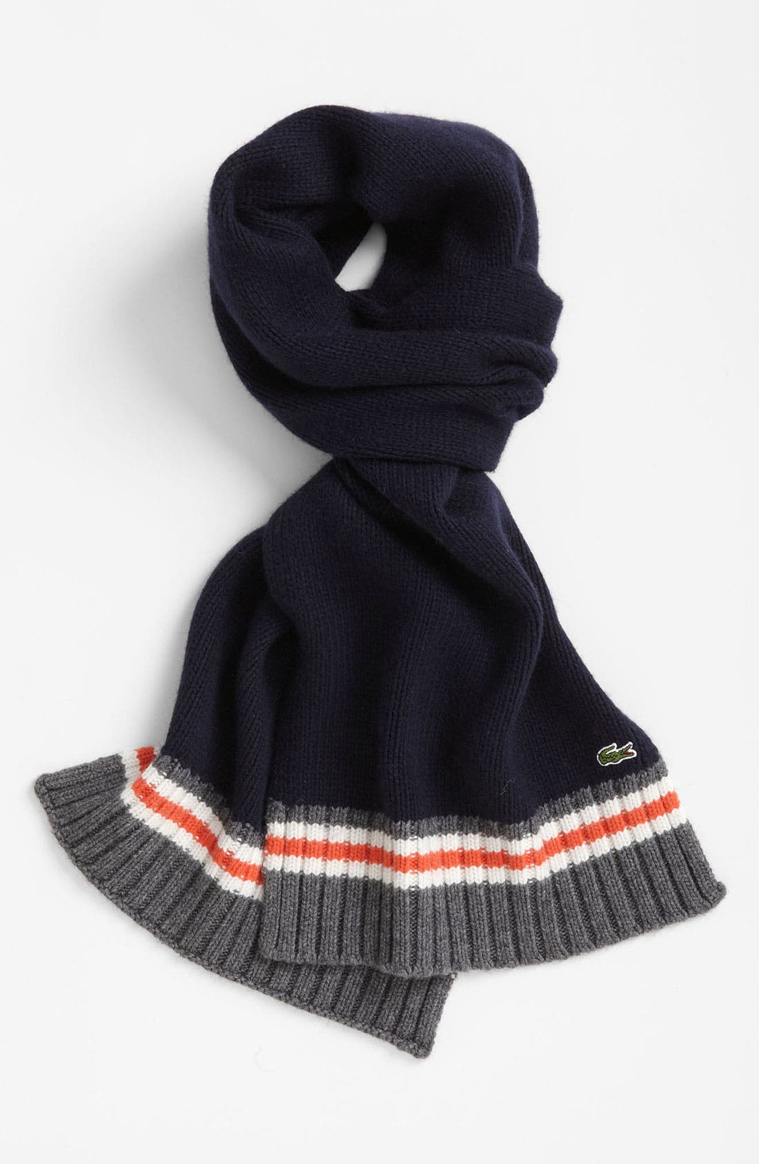 Alternate Image 1 Selected - Lacoste 'Toboggan' Knit Scarf