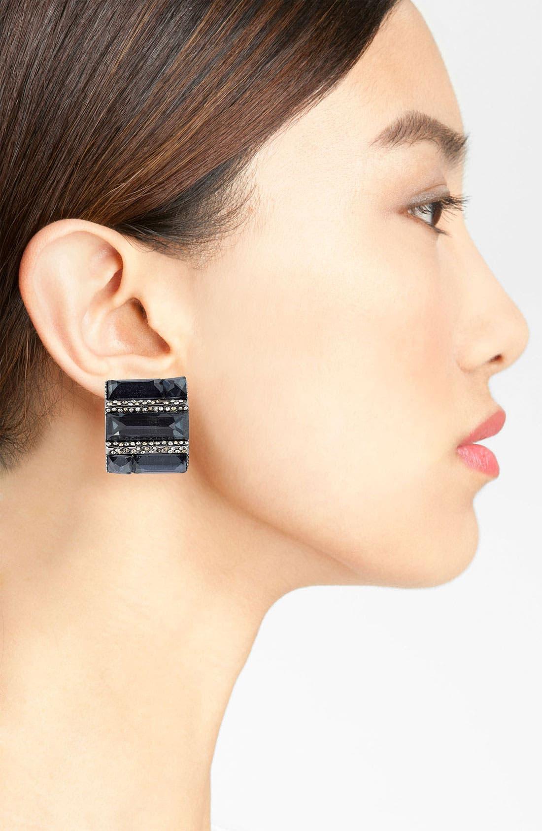 Alternate Image 2  - Alexis Bittar 'Miss Havisham - Delano' Clip Earrings (Nordstrom Exclusive)