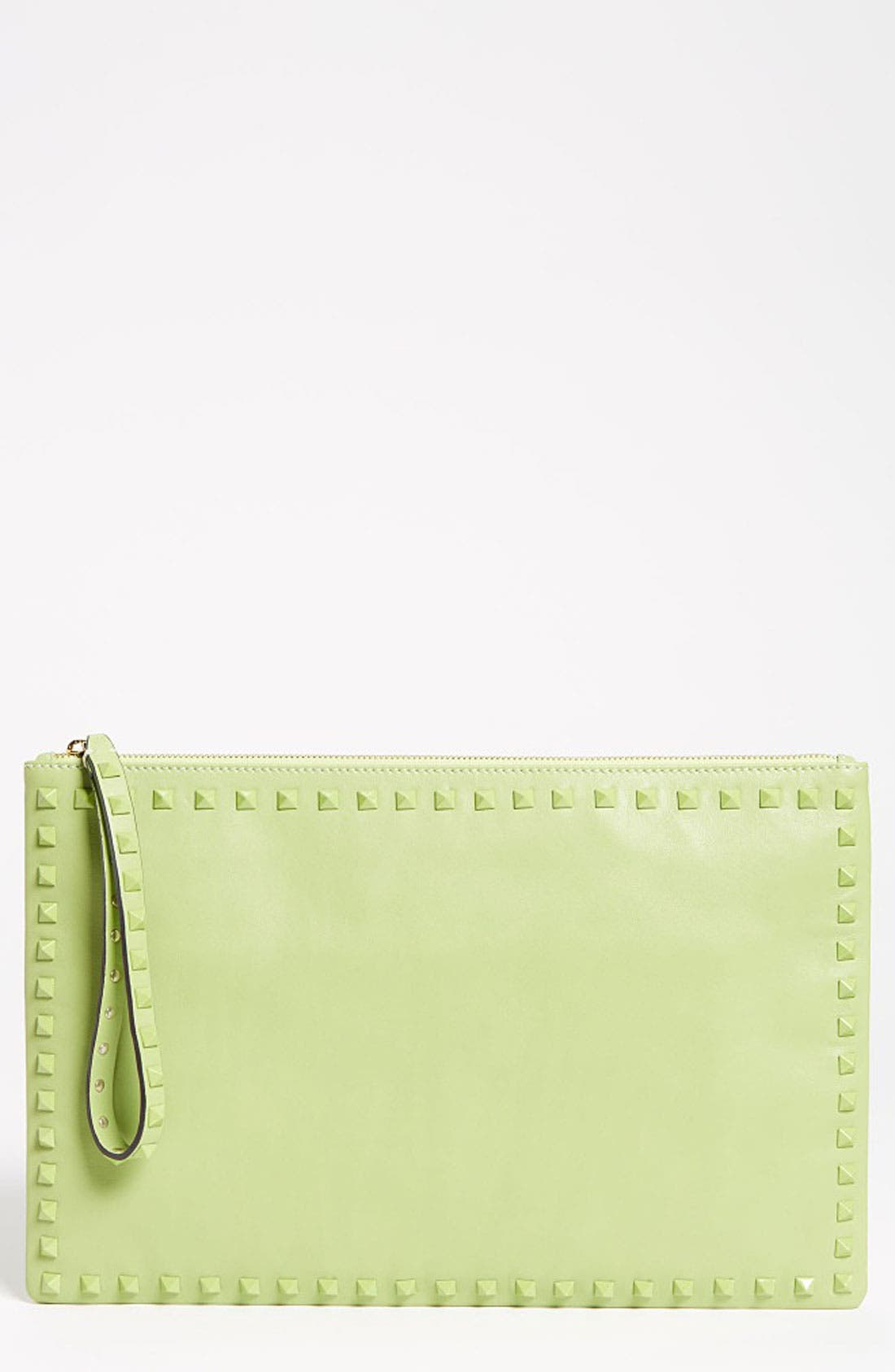 Main Image - Valentino 'Rockstud - Small' Leather Clutch