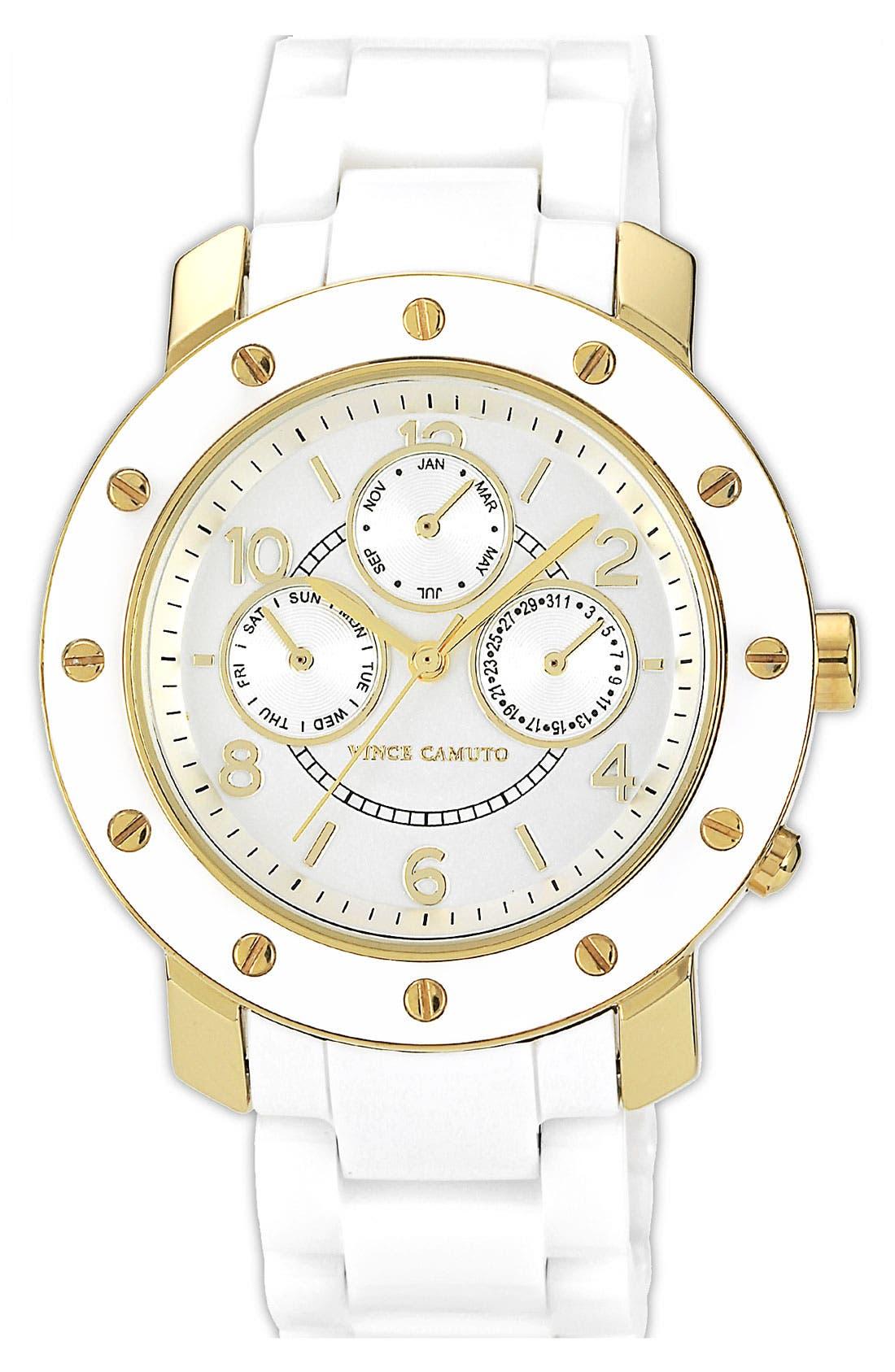 Main Image - Vince Camuto Ceramic Bracelet Watch, 42mm