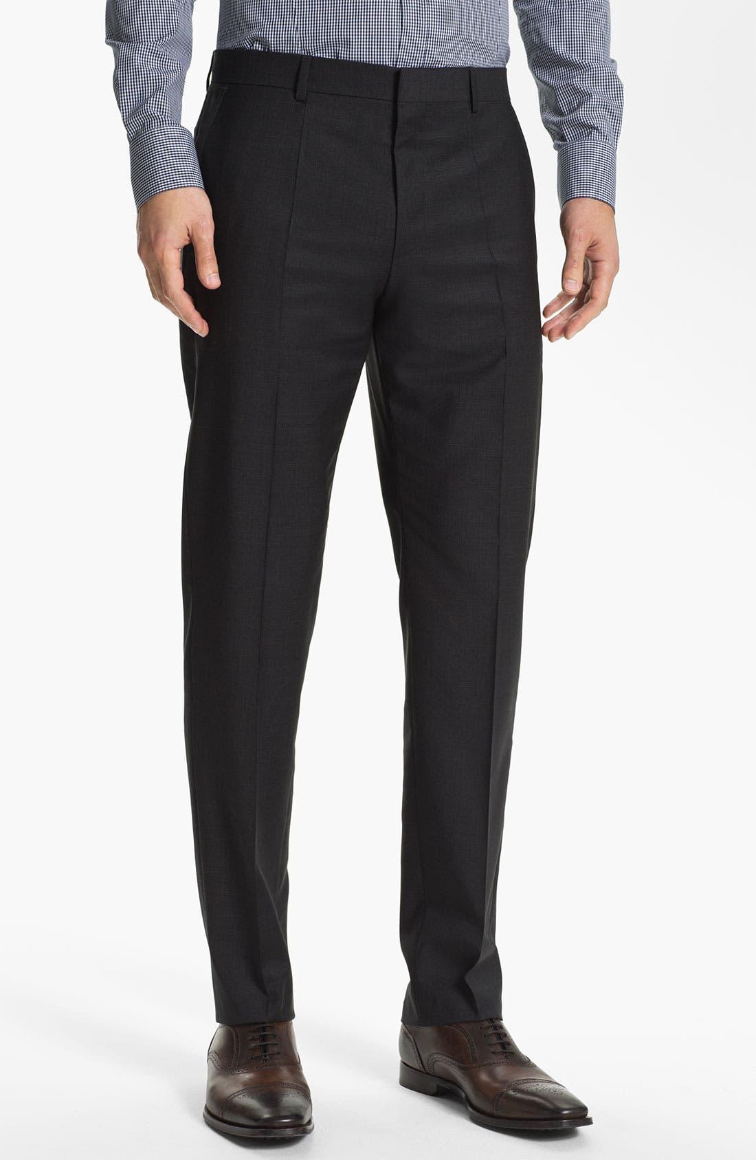 Alternate Image 1 Selected - HUGO 'Hamen' Trousers