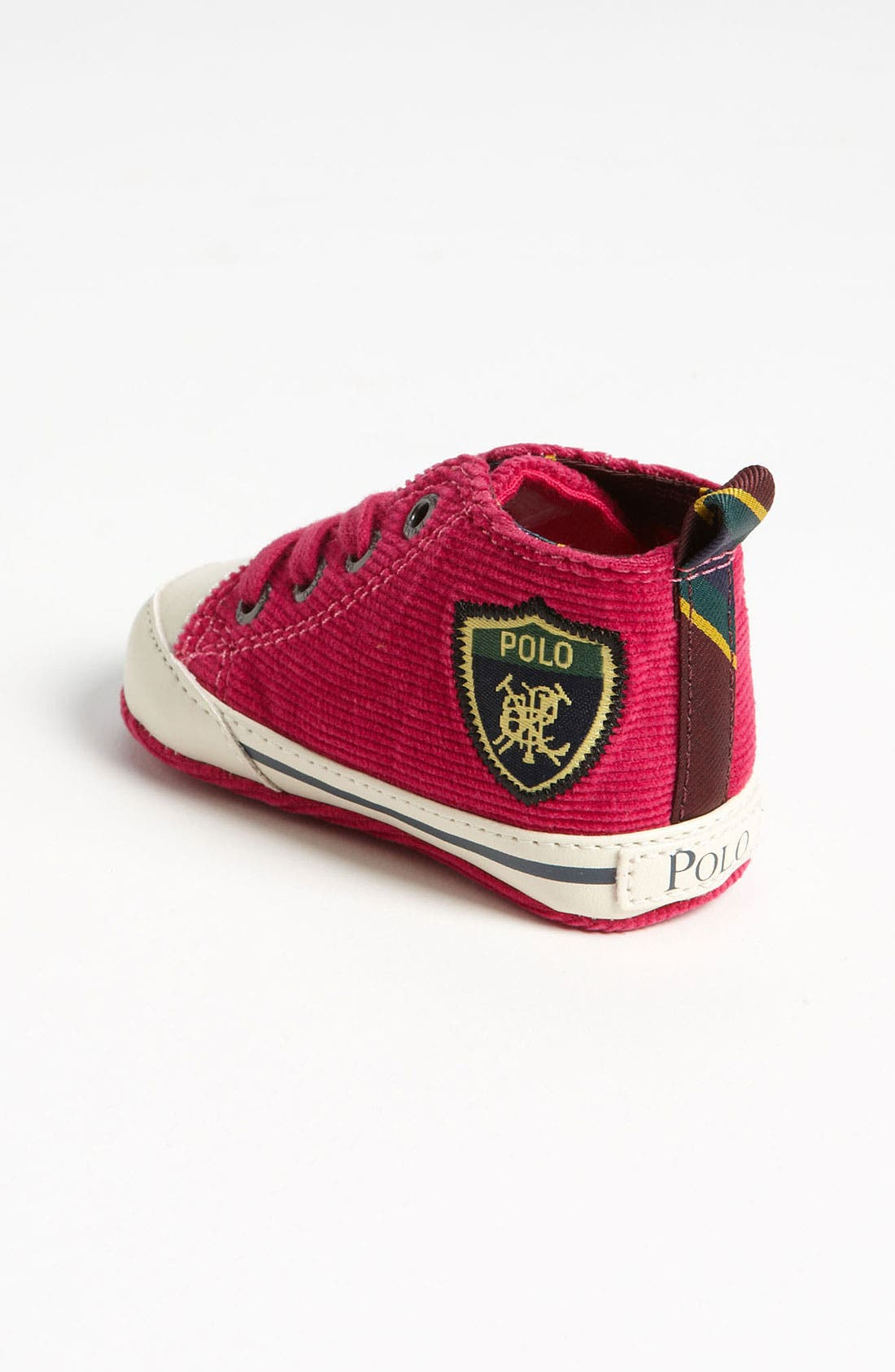 Alternate Image 2  - Ralph Lauren Layette Crib Shoe (Baby)