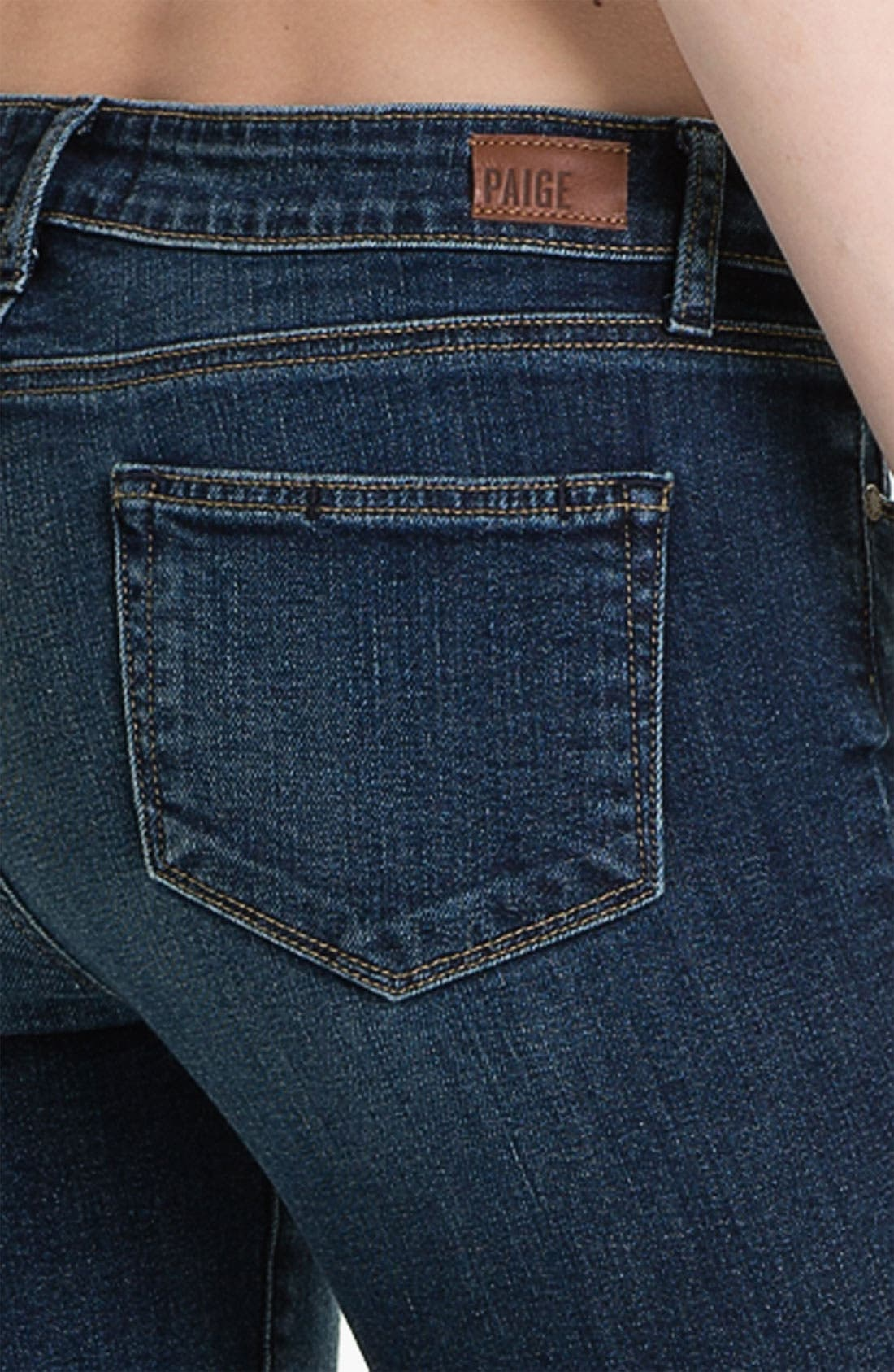Alternate Image 3  - Paige Denim 'Verdugo' Stretch Denim Skinny Jeans (Benny)