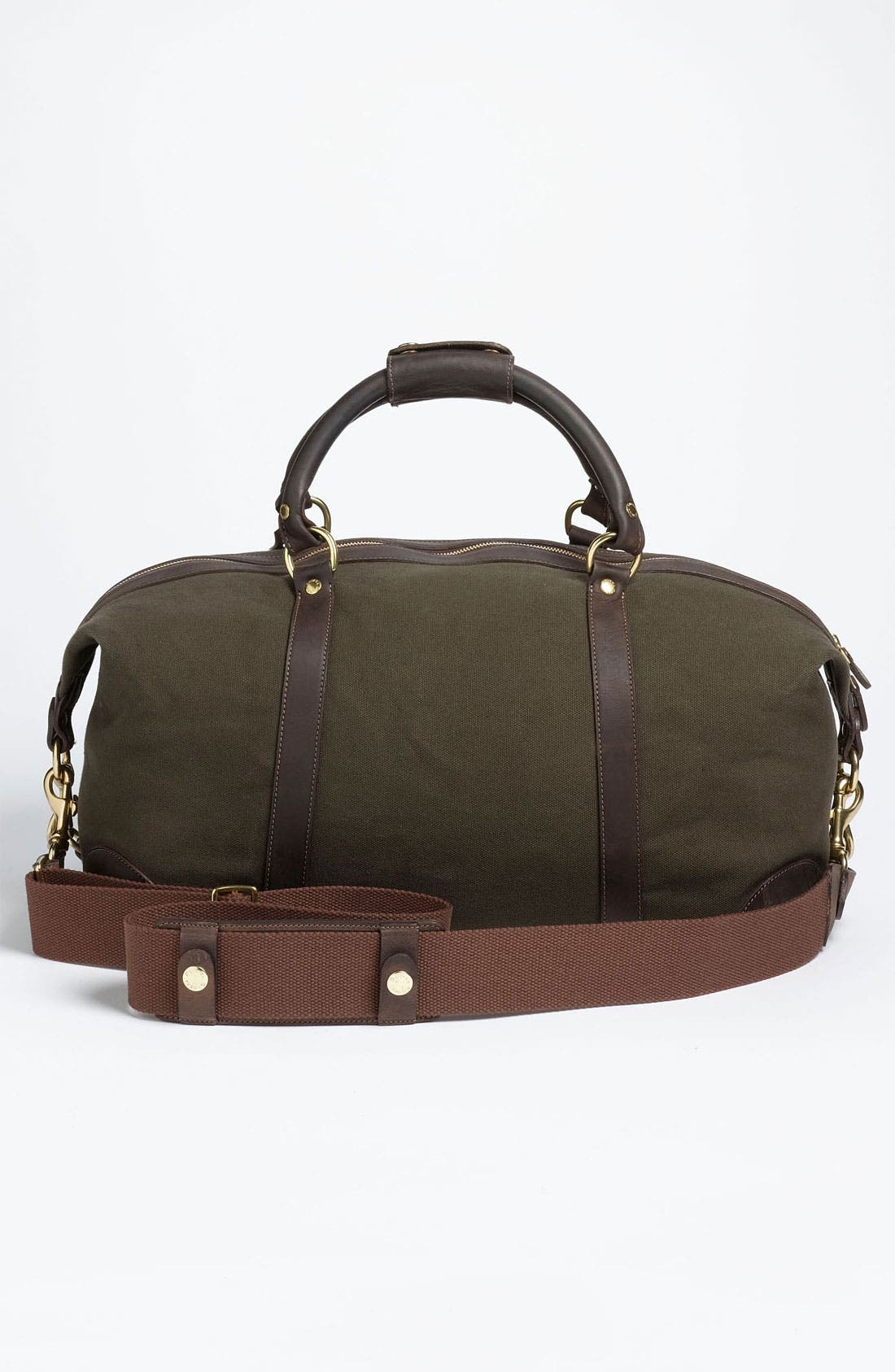 Alternate Image 4  - Ghurka 'Cavalier I' Canvas Duffel Bag