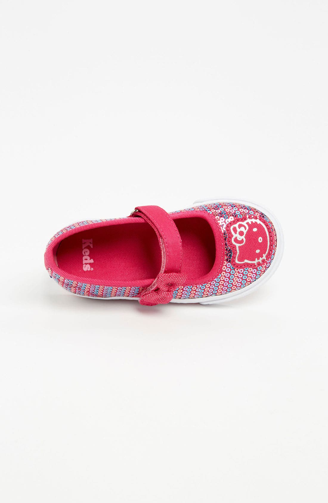 Alternate Image 3  - Keds® 'Hello Kitty® - Pawriffic' Mary Jane (Baby, Walker & Toddler)