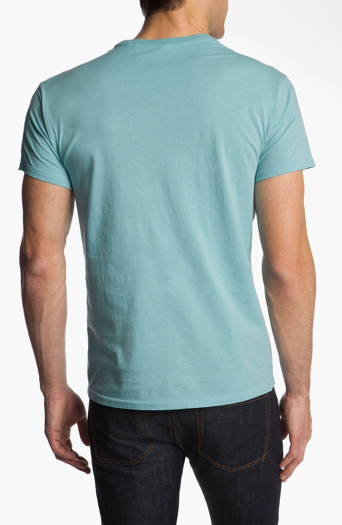 Alternate Image 2  - The Original Retro Brand 'Pittsburgh Penguins - Stitch' T-Shirt