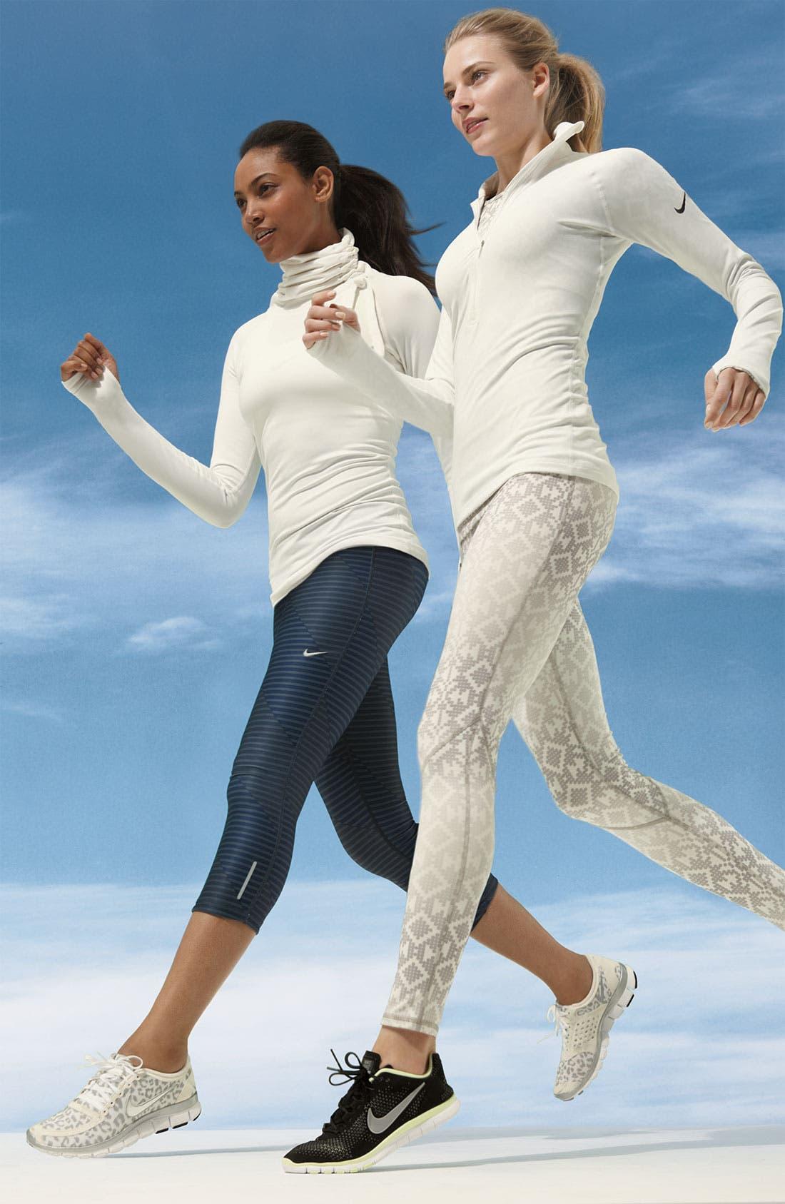 Alternate Image 4  - Nike 'Pro Hyperwarm Hybrid' Dri FIT Training Top