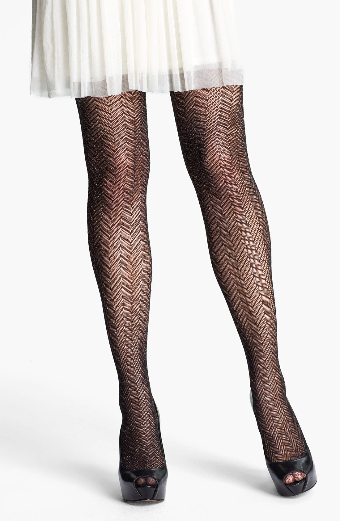 Alternate Image 1 Selected - Nordstrom 'Glitter' Tights