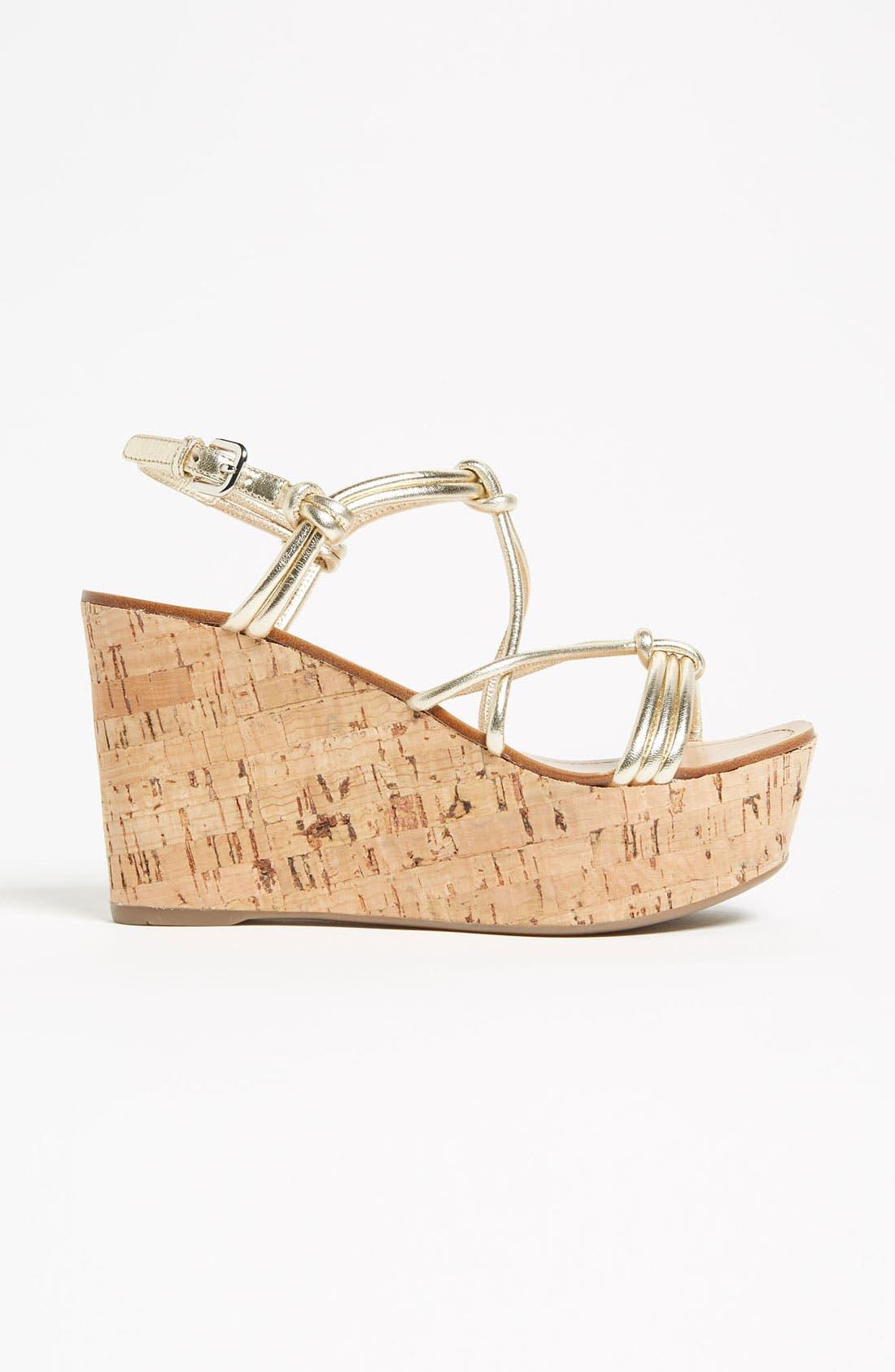 Alternate Image 4  - Prada Cork Wedge Sandal