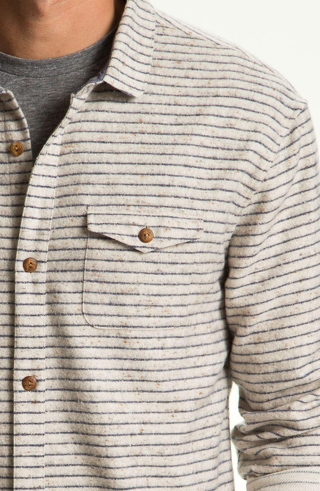 Alternate Image 3  - Riviera Club 'Tonic' Stripe Woven Shirt