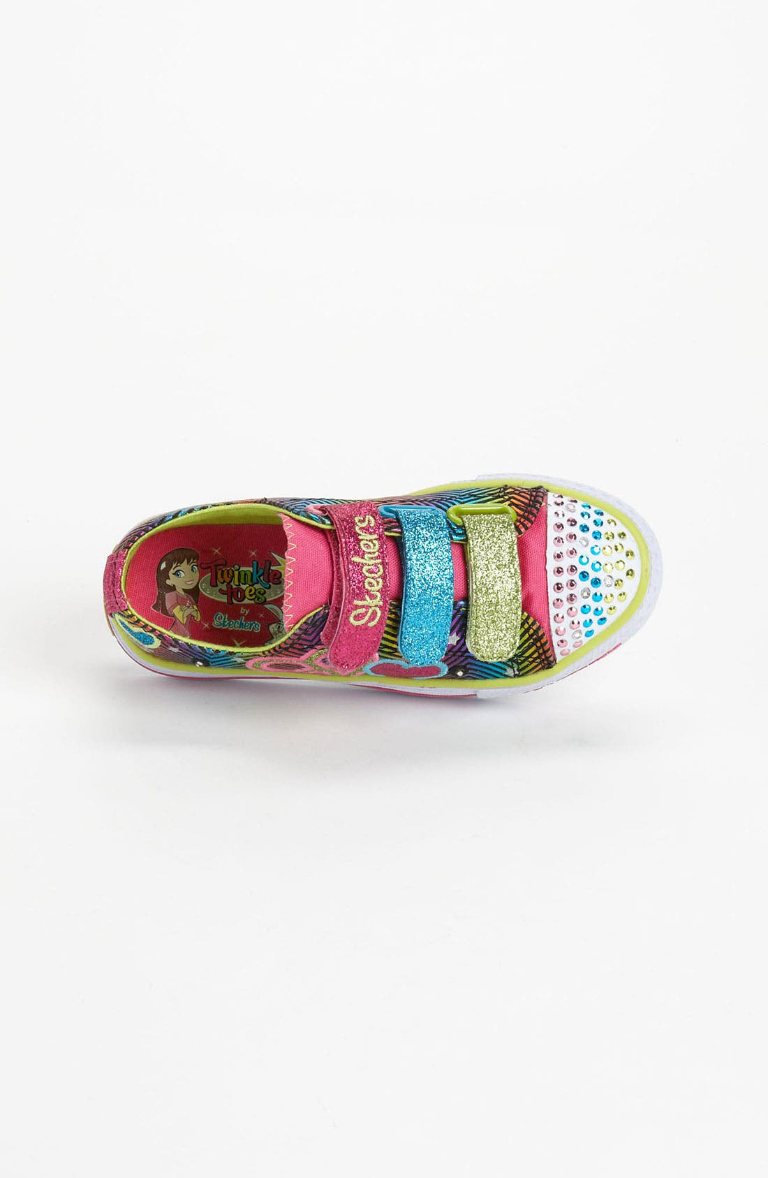 Alternate Image 3  - SKECHERS 'Shuffles - Baby Luv' Sneaker (Toddler & Little Kid)