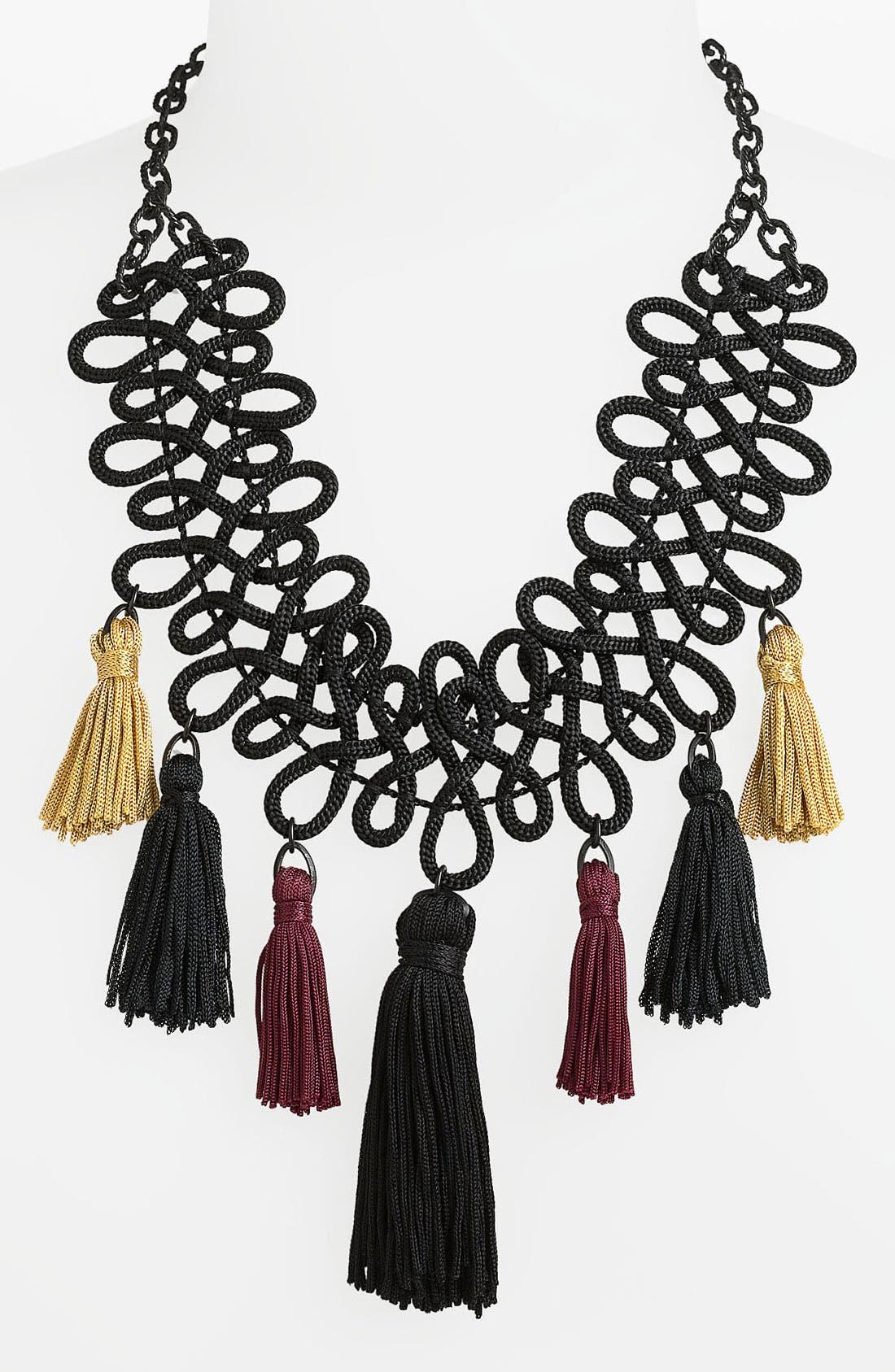 Alternate Image 1 Selected - Bonnie Jonas Tassel Necklace