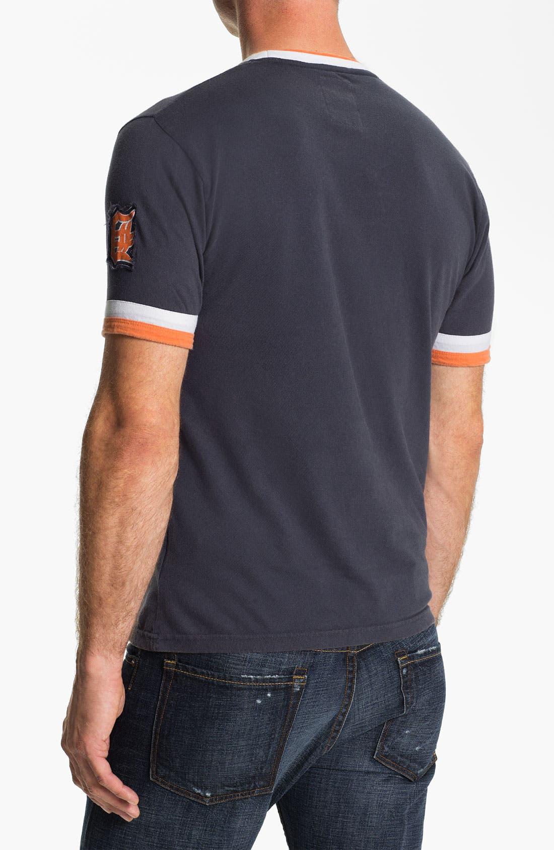 Alternate Image 2  - Red Jacket 'Detroit Tigers' Trim Fit Ringer T-Shirt (Men)