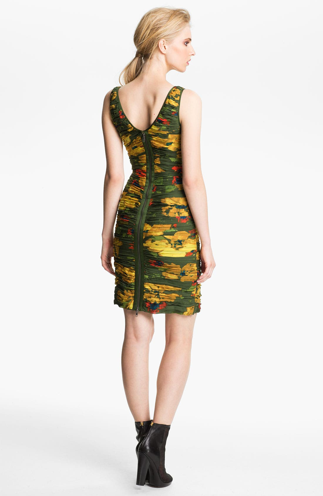 Alternate Image 2  - Rachel Zoe 'Maddy' Ruched Silk Dress