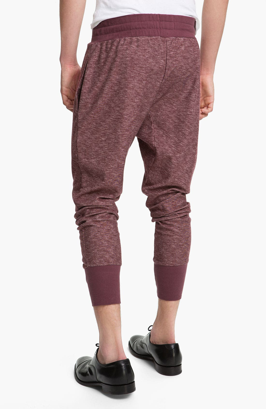 Alternate Image 2  - Topman 'Zane' Heather Cotton Lounge Pants