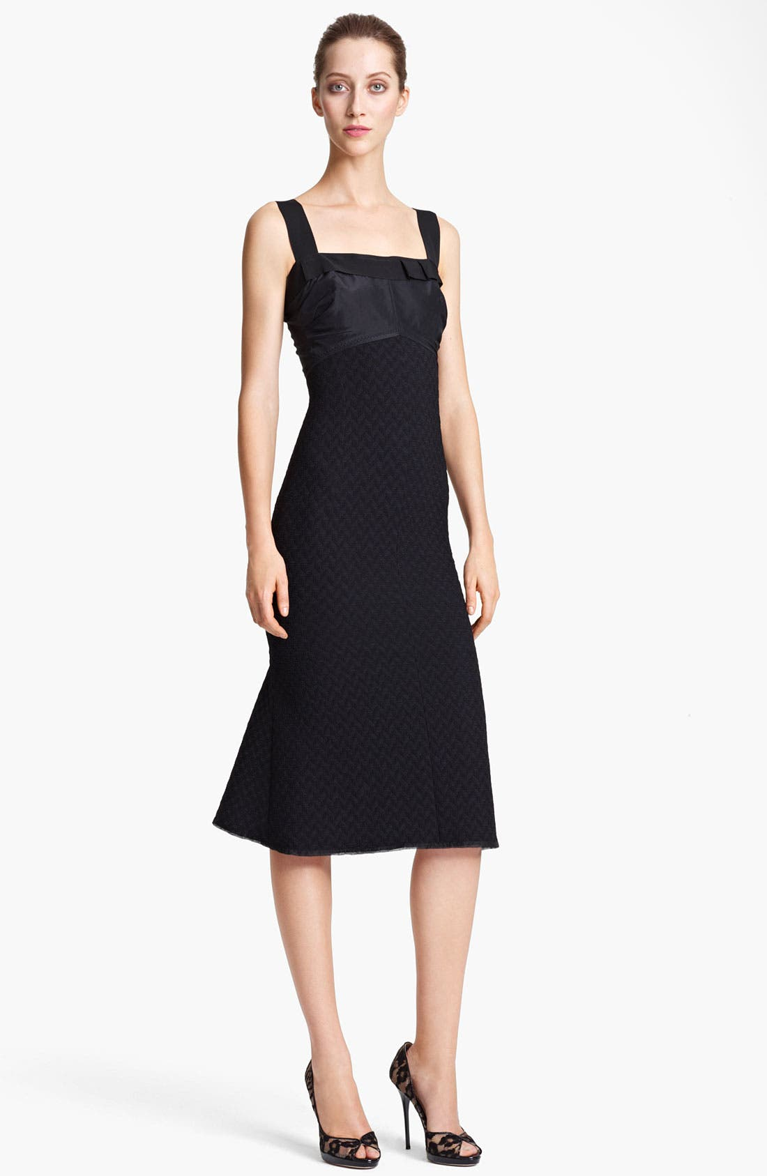 Alternate Image 1 Selected - Nina Ricci Tweed Sheath Dress