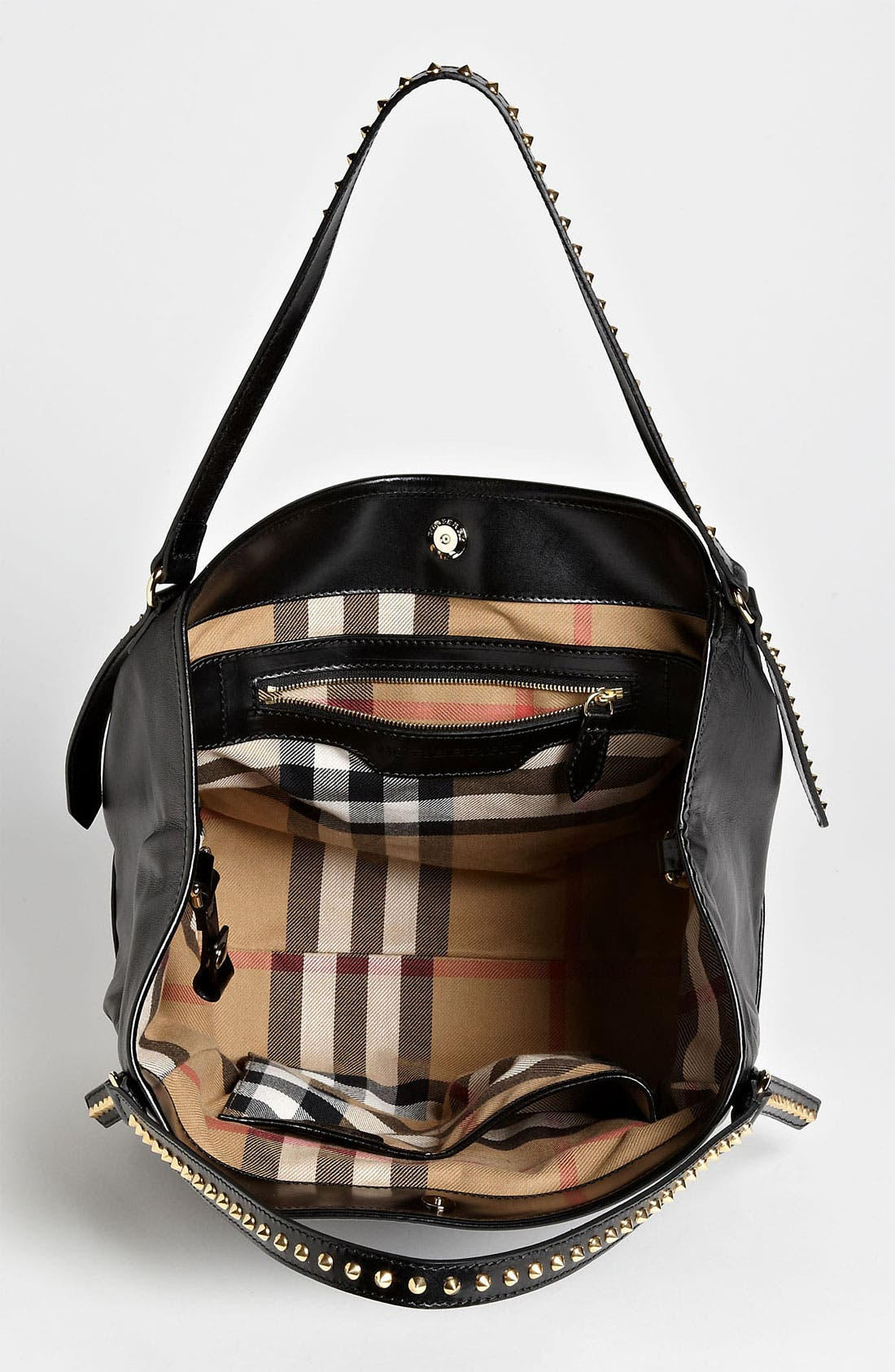 Alternate Image 3  - Burberry 'Bridle Studs' Leather Tote