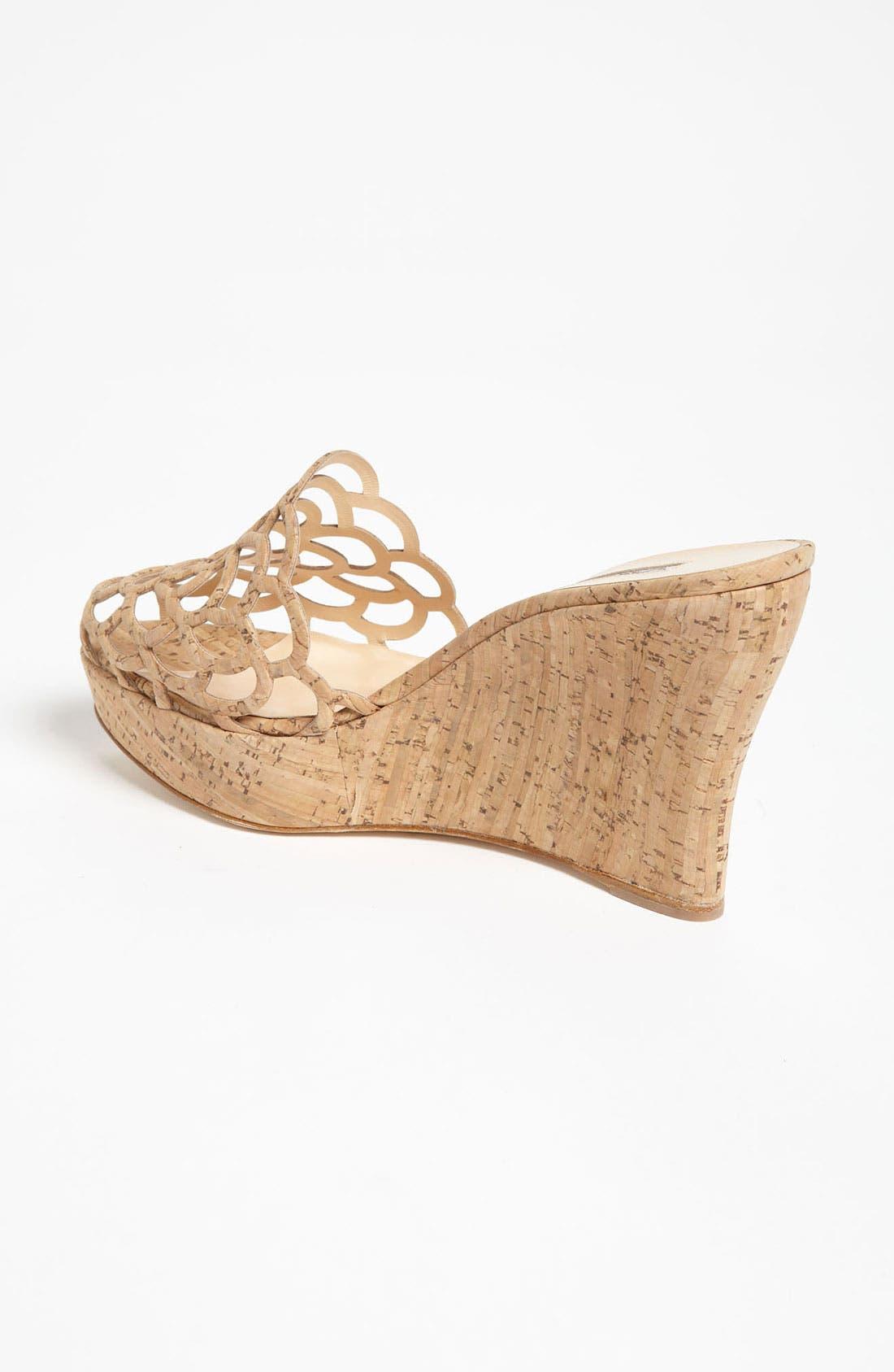 Alternate Image 2  - Oscar de la Renta 'Virma' Cork Sandal