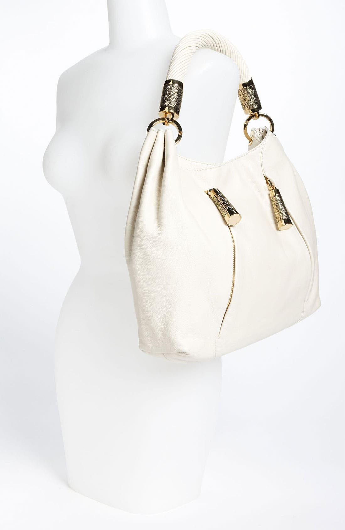 Alternate Image 2  - Michael Kors 'Tonne' Leather Hobo