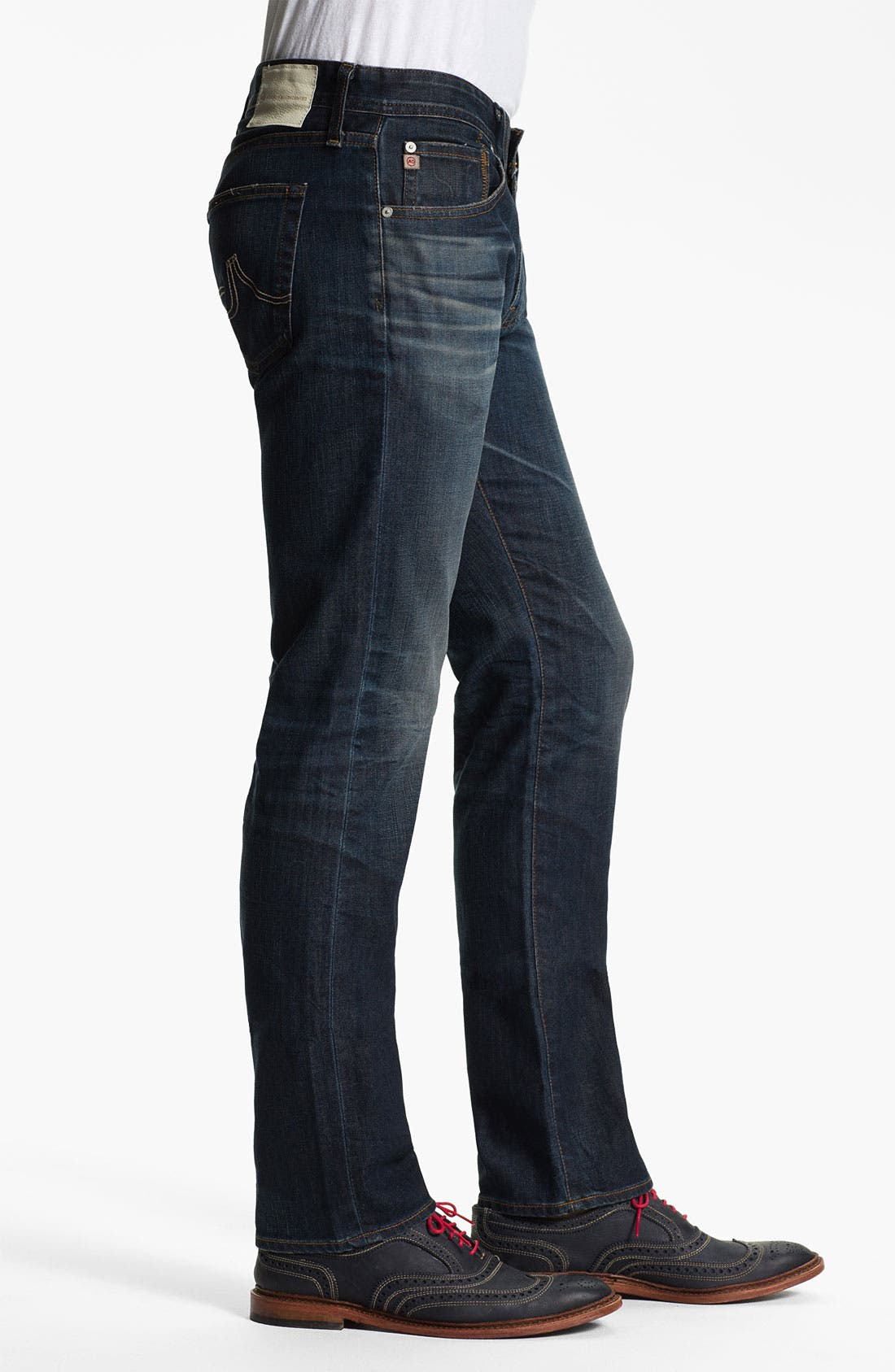 Alternate Image 3  - AG Jeans 'Matchbox' Slim Straight Leg Jeans (4 Year Matte)