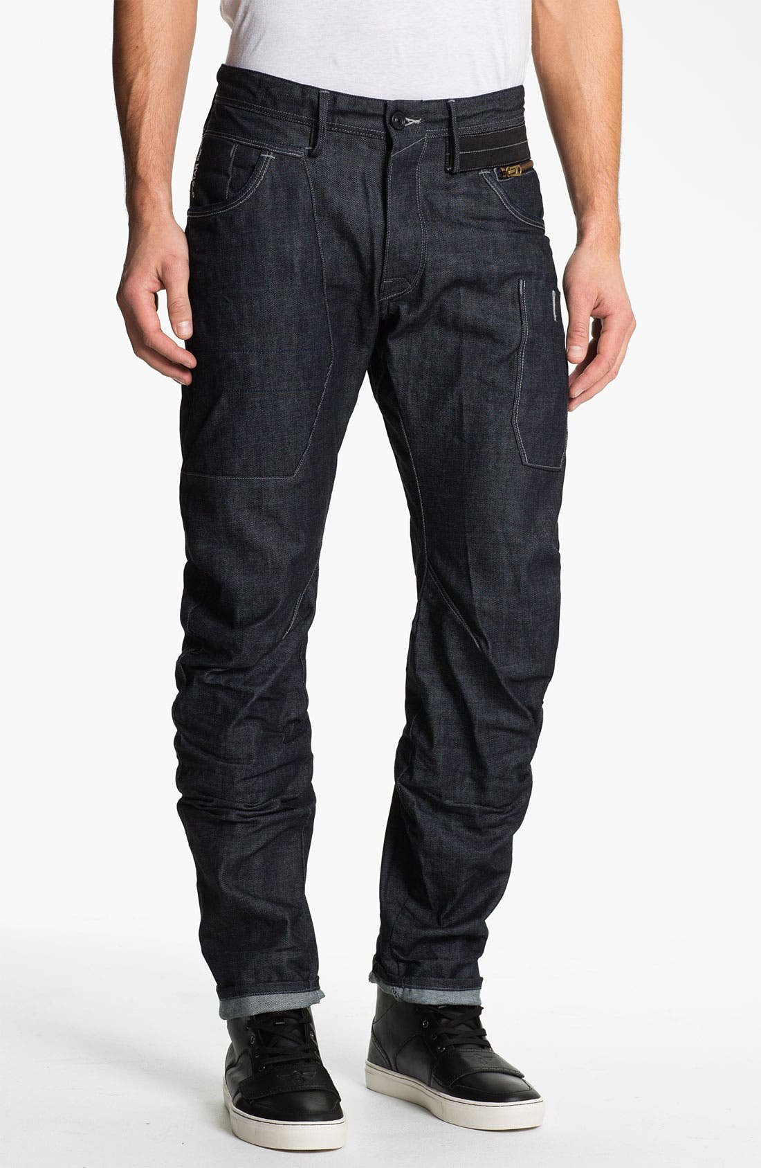 Alternate Image 2  - G-Star Raw 'Modernist Army Rader' Straight Leg Jeans (3D Raw)